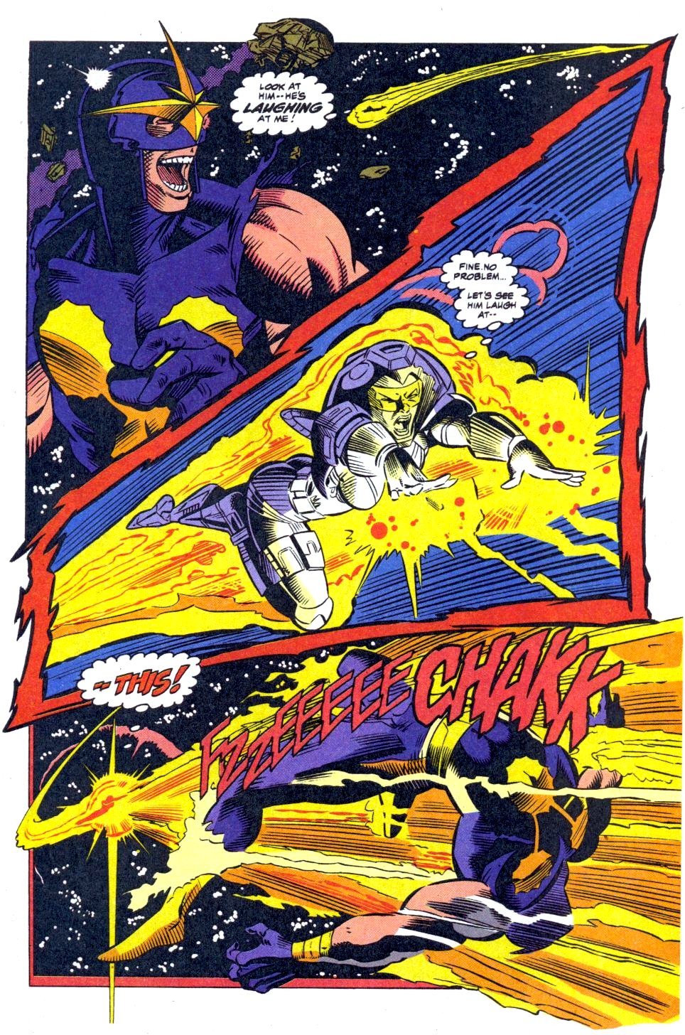 The New Warriors Issue #41 #45 - English 18