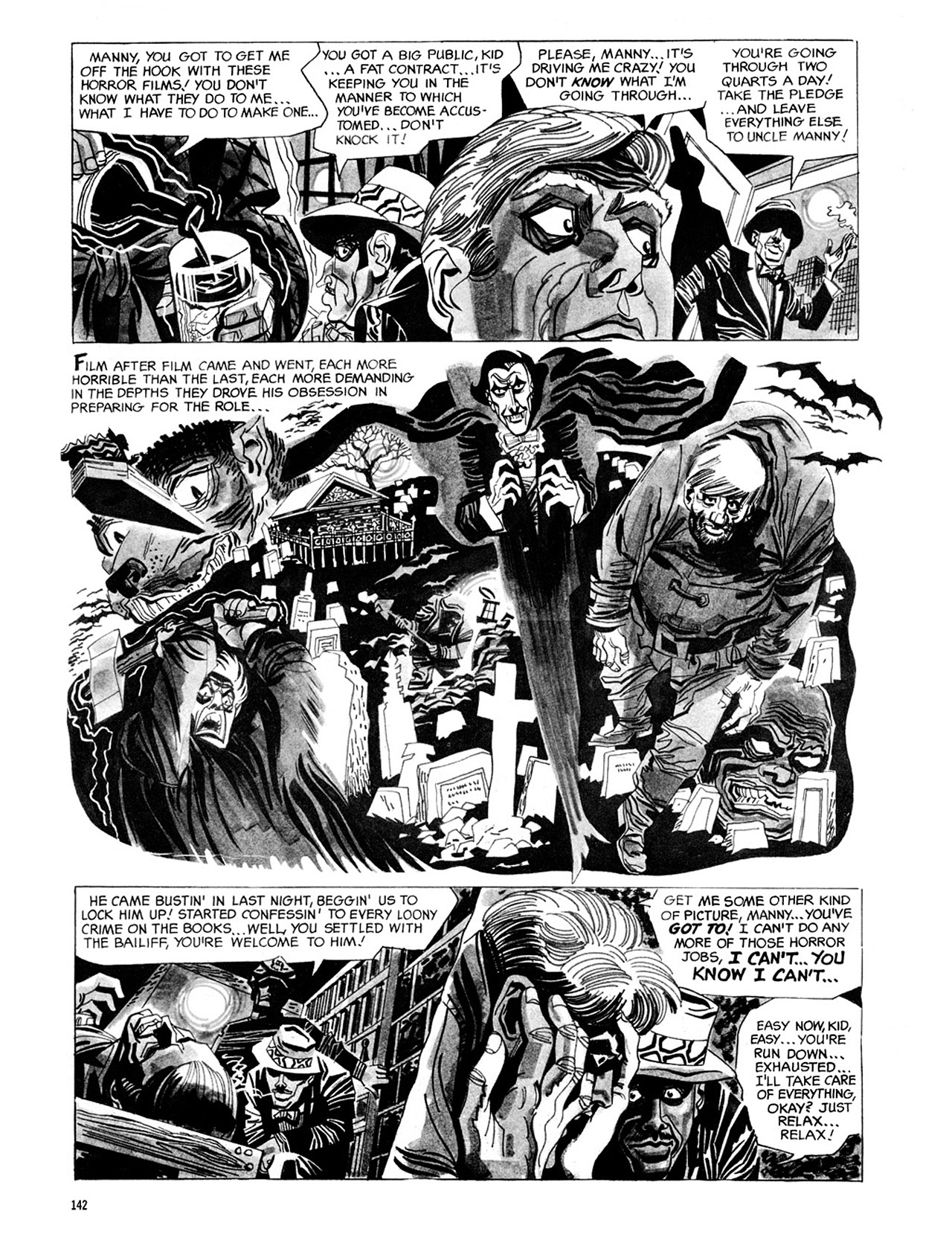 Read online Eerie Archives comic -  Issue # TPB 2 - 143