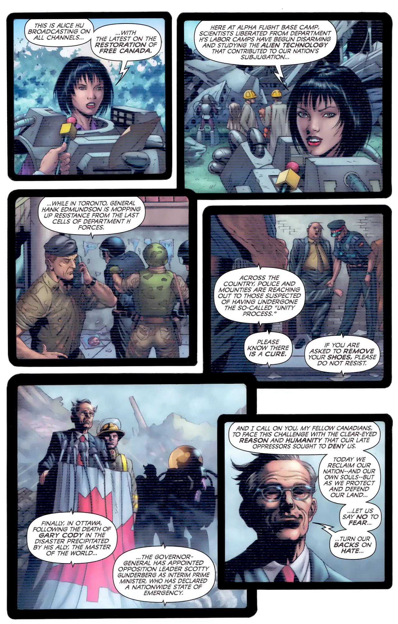 Read online Alpha Flight (2011) comic -  Issue #8 - 21