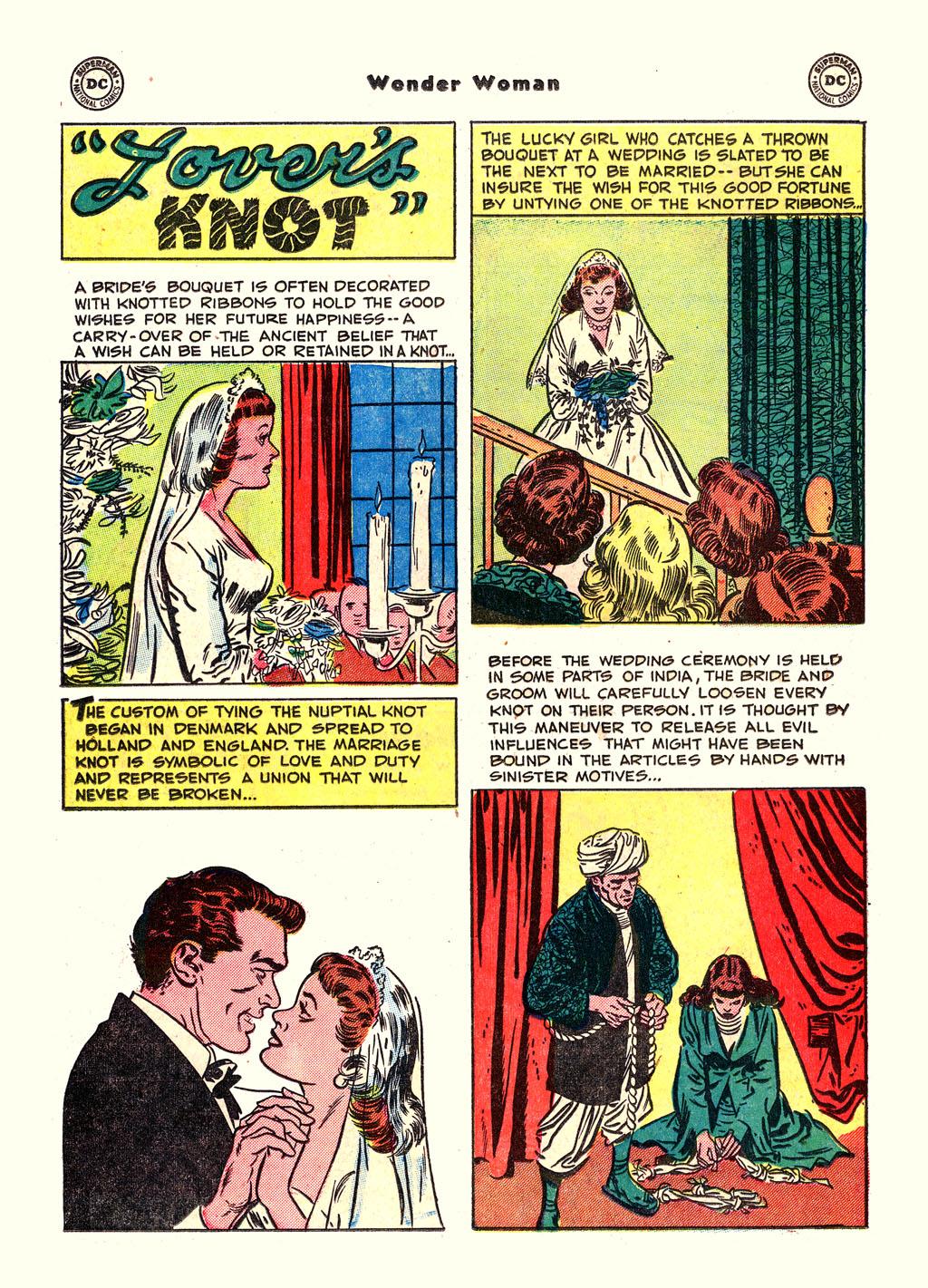 Read online Wonder Woman (1942) comic -  Issue #54 - 30