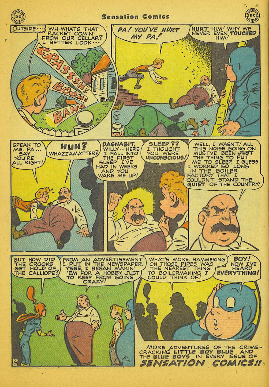 Read online Sensation (Mystery) Comics comic -  Issue #66 - 22
