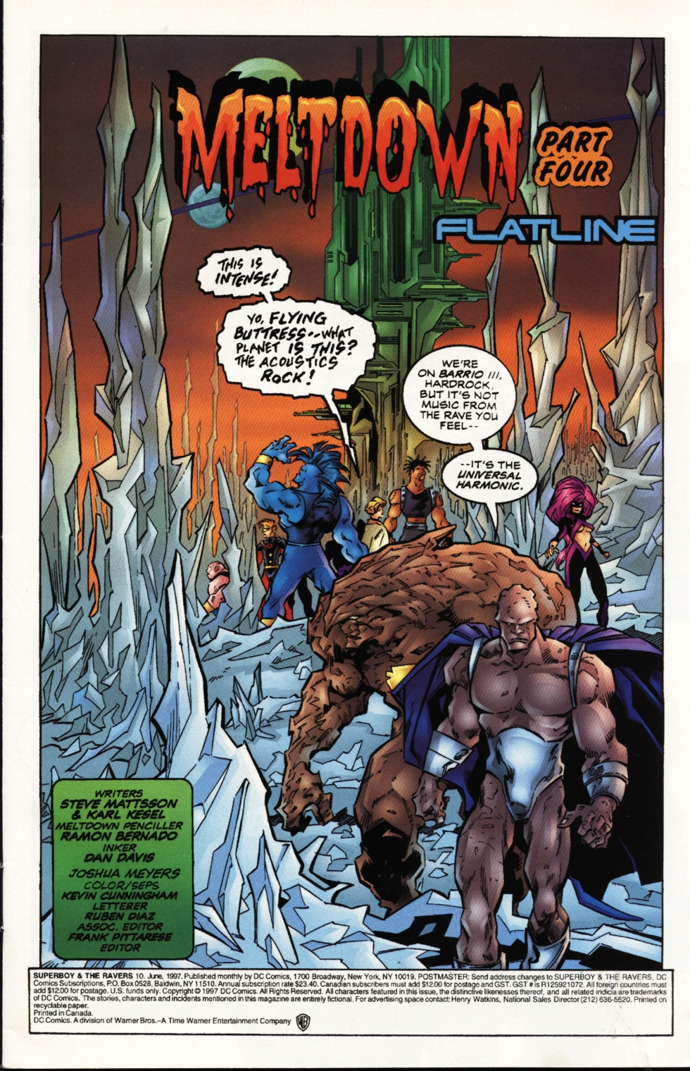 Read online Superboy & The Ravers comic -  Issue #10 - 2