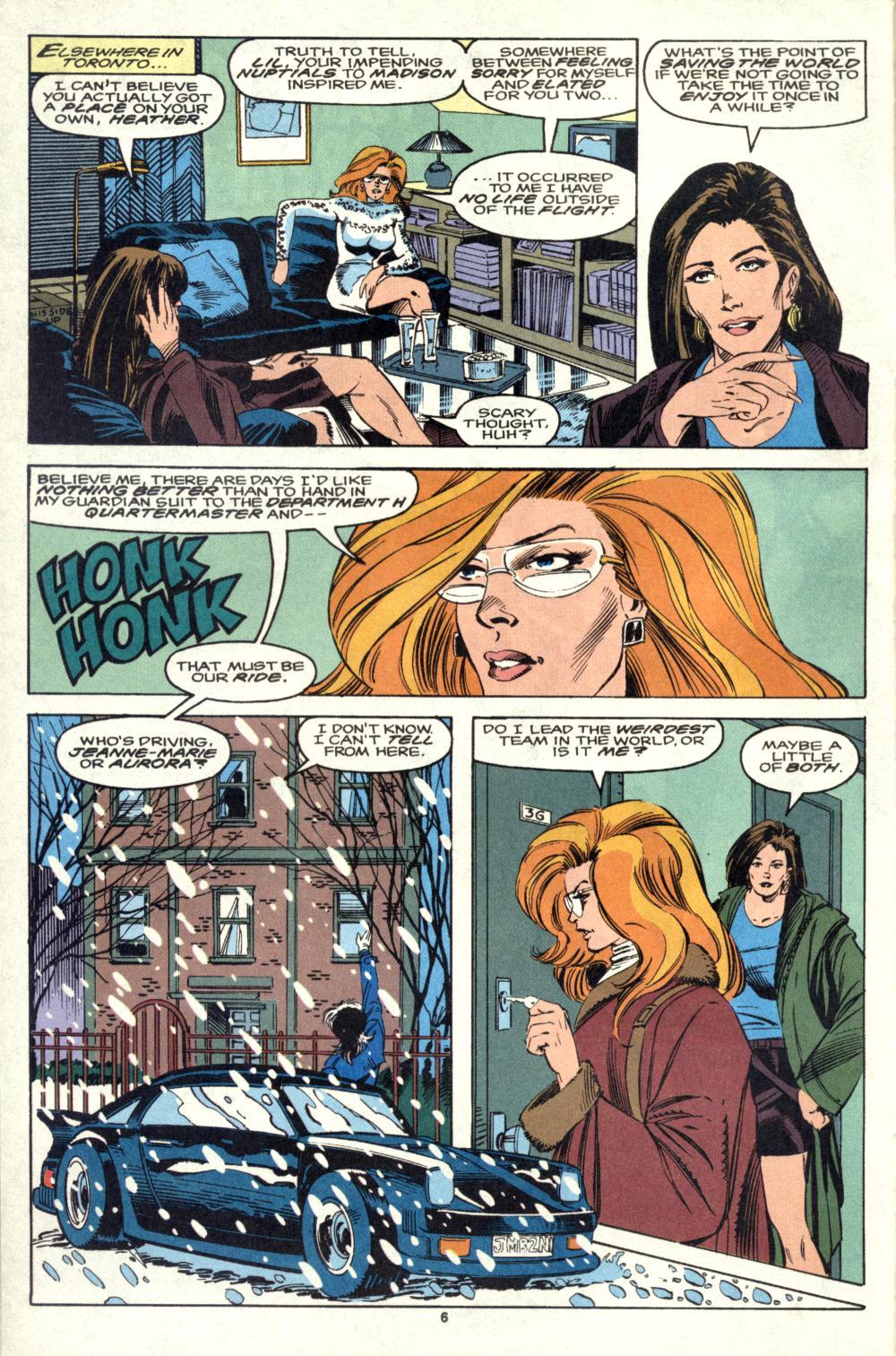 Read online Alpha Flight (1983) comic -  Issue #105 - 6