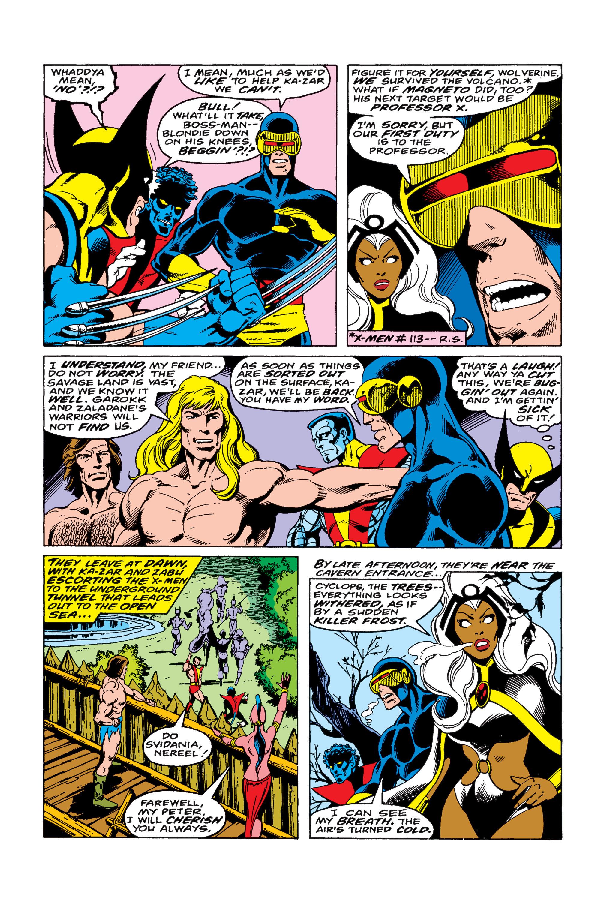 Uncanny X-Men (1963) 115 Page 15