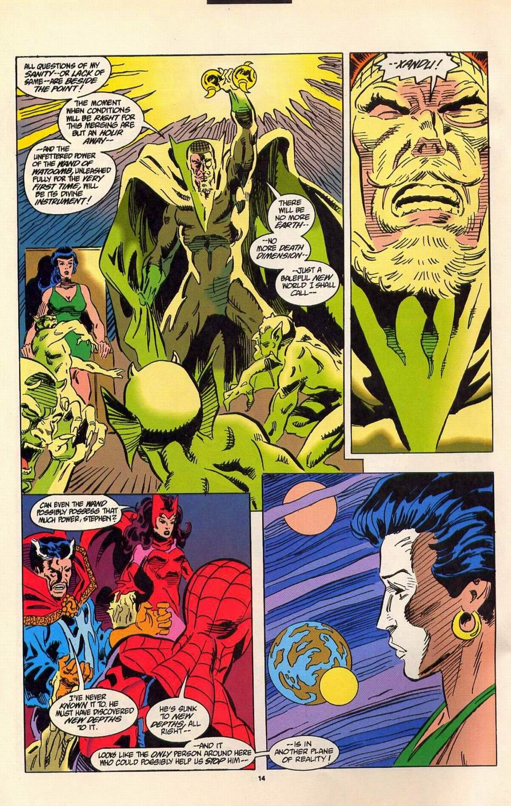 Read online Secret Defenders comic -  Issue #7 - 9