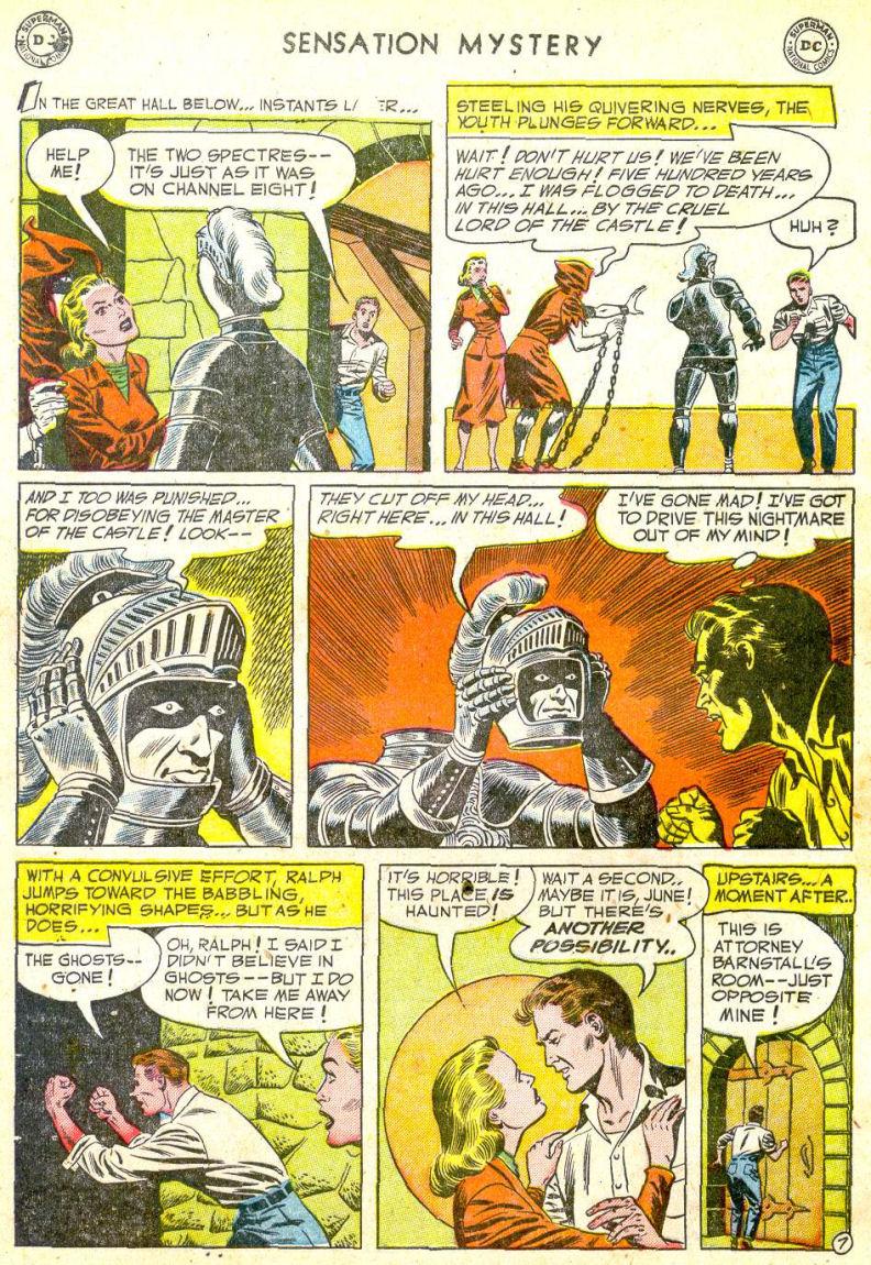 Read online Sensation (Mystery) Comics comic -  Issue #113 - 32