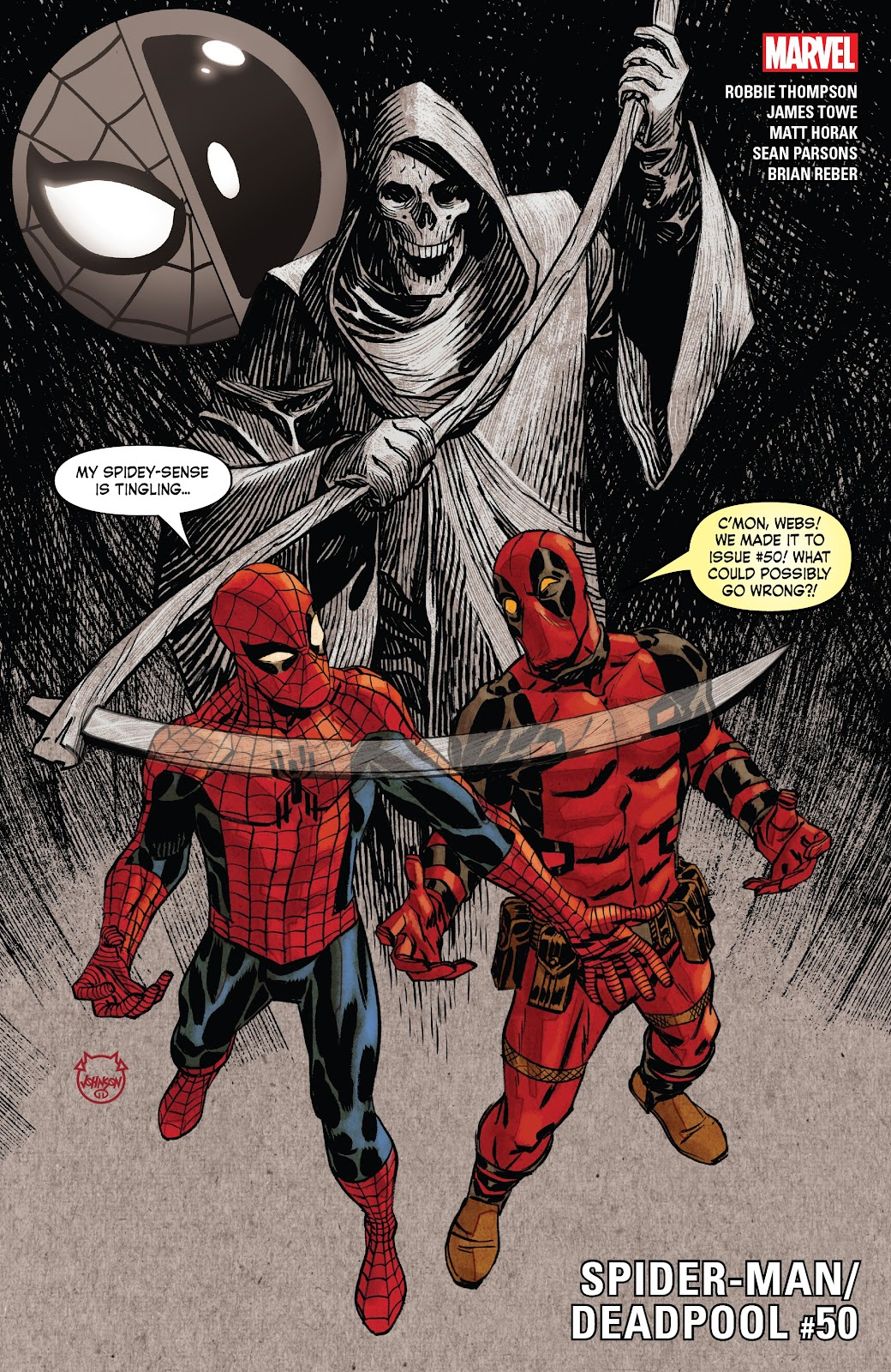 Read online Spider-Man/Deadpool comic -  Issue #50 - 1