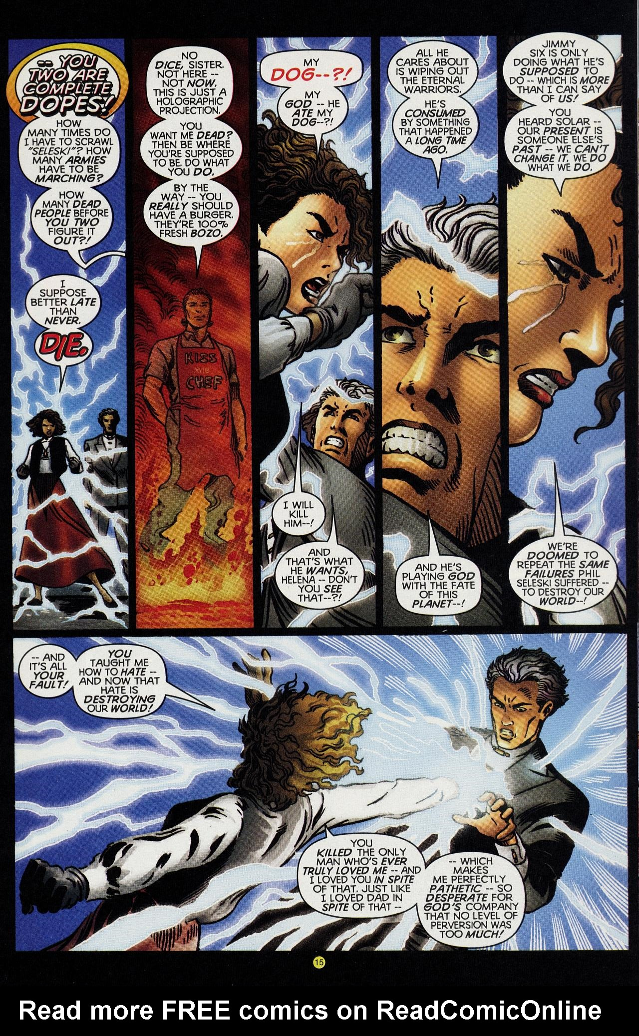 Read online Solar, Man of the Atom: Hell on Earth comic -  Issue #4 - 15