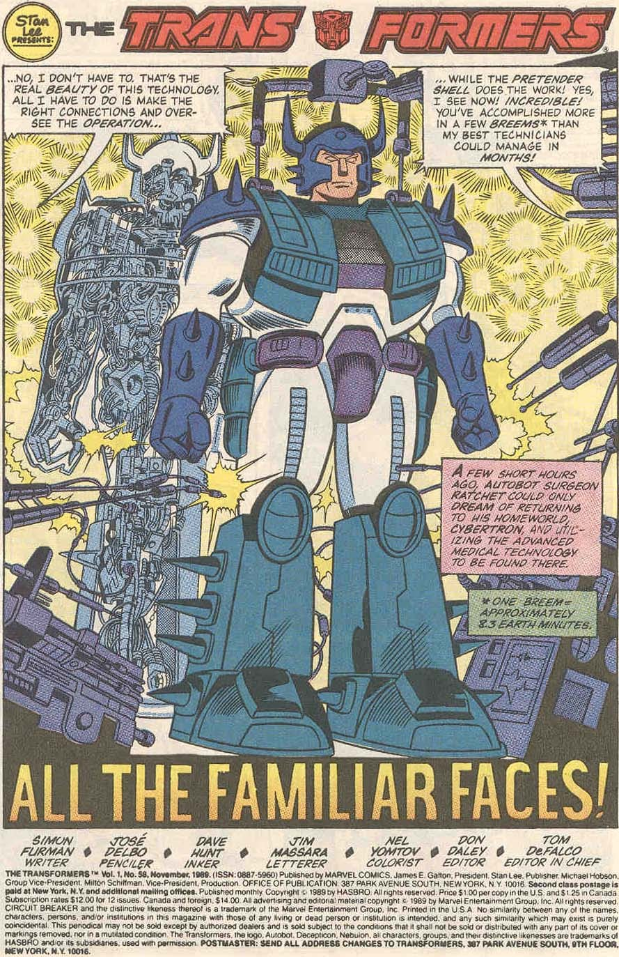 The Transformers (UK) 246 Page 2