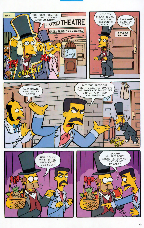Read online Simpsons Comics comic -  Issue #78 - 24