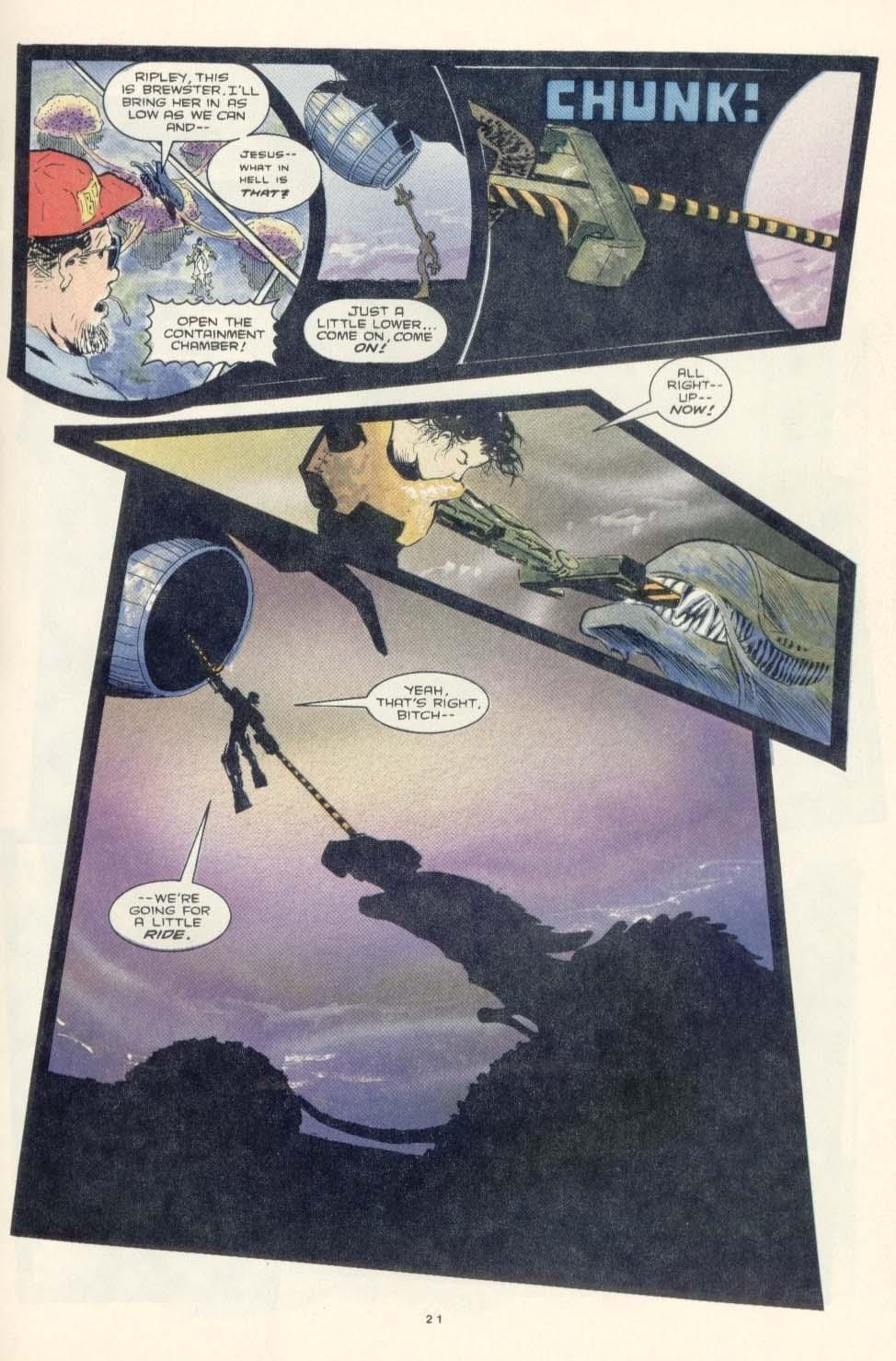 Read online Aliens: Earth War comic -  Issue #3 - 23