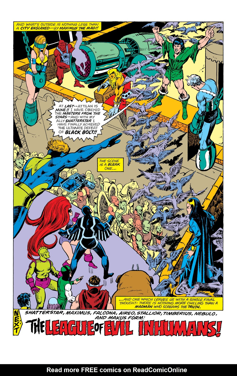 Read online Marvel Masterworks: The Inhumans comic -  Issue # TPB 2 (Part 1) - 81