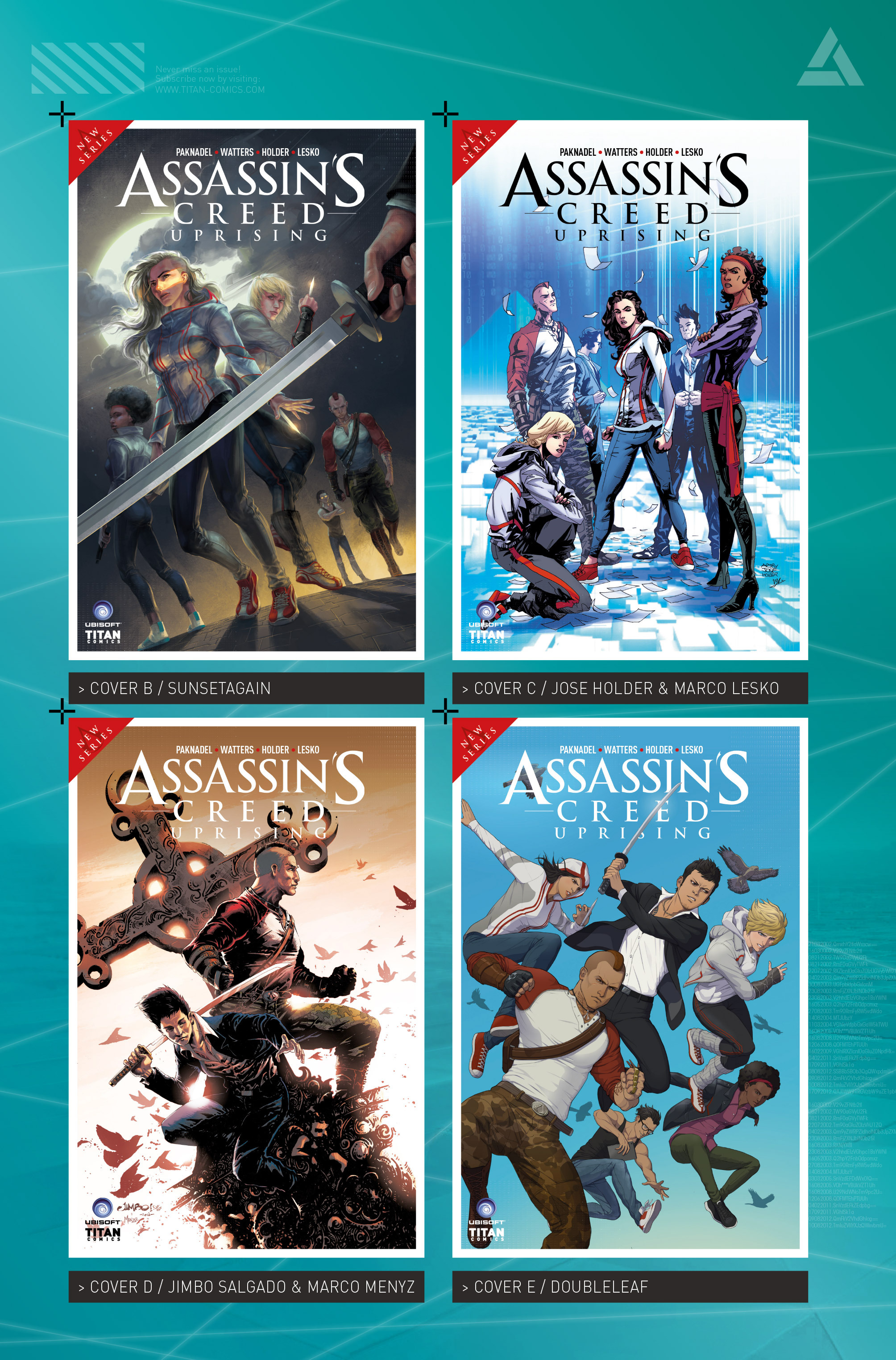 Read online Assassin's Creed: Uprising comic -  Issue #1 - 30