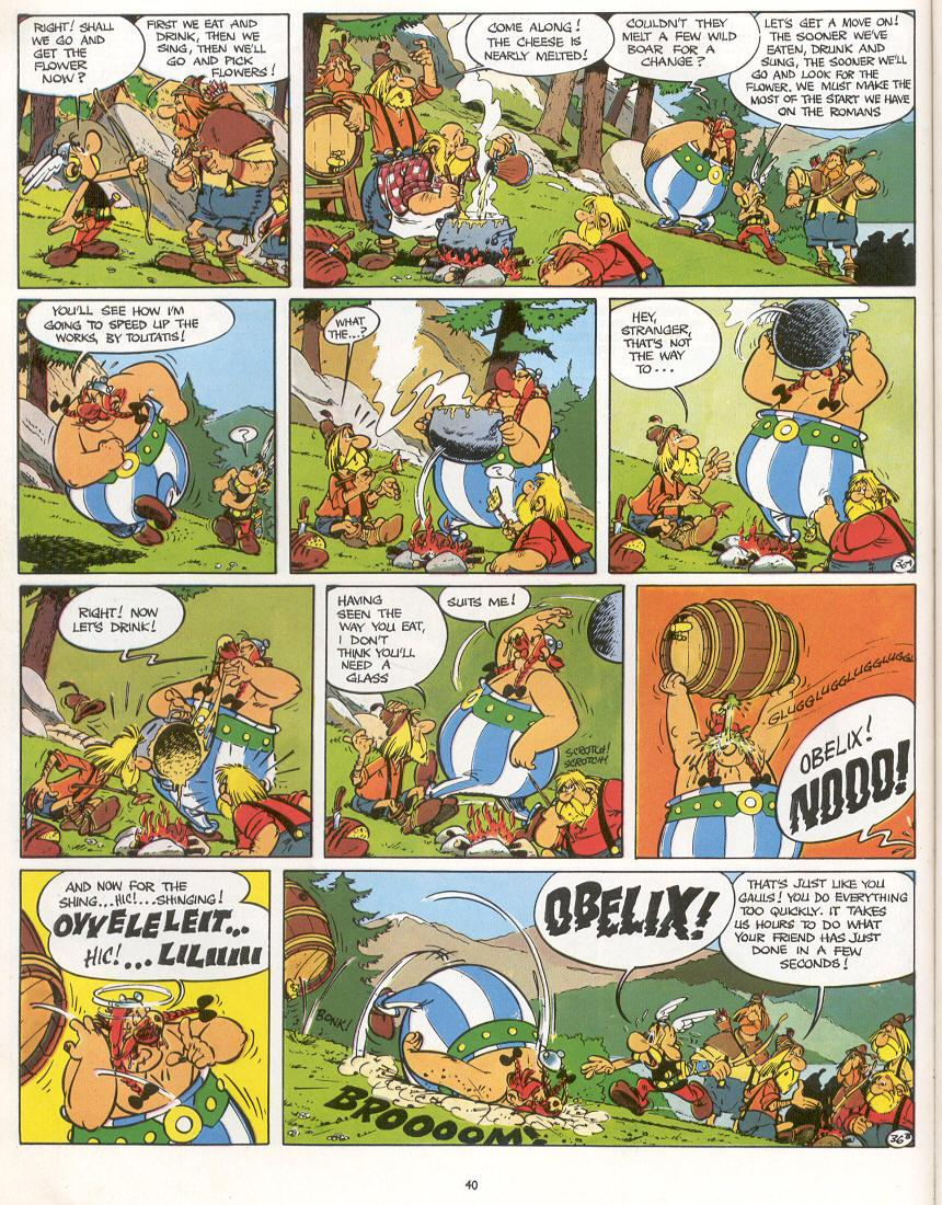 Read online Asterix comic -  Issue #16 - 37
