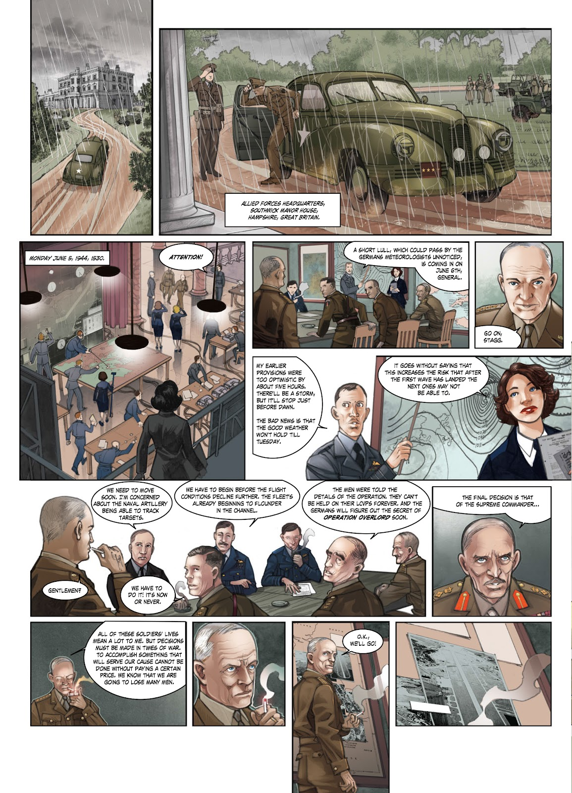 Read online Opération Overlord comic -  Issue #1 - 8