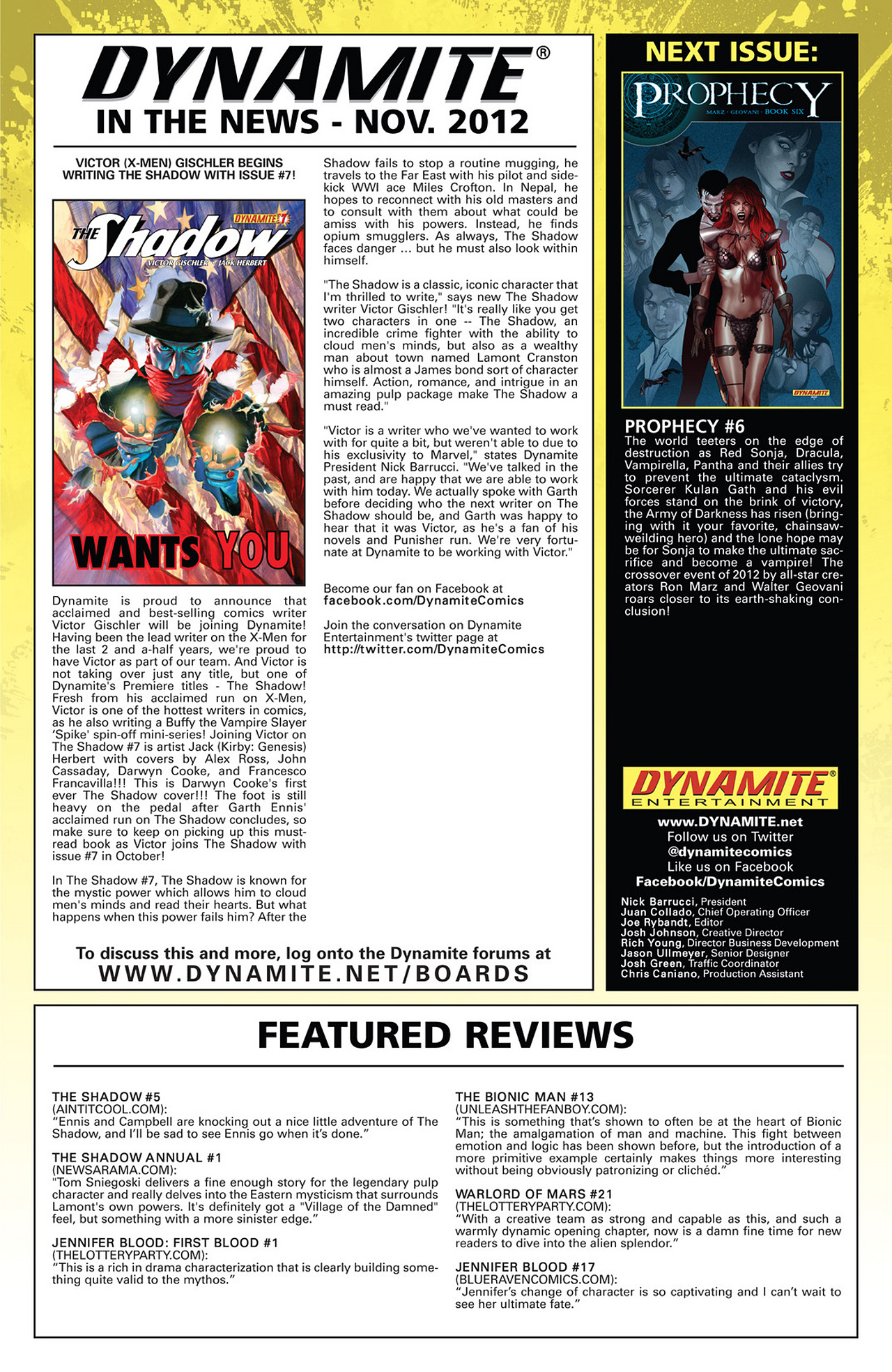 Read online Prophecy comic -  Issue #5 - 23