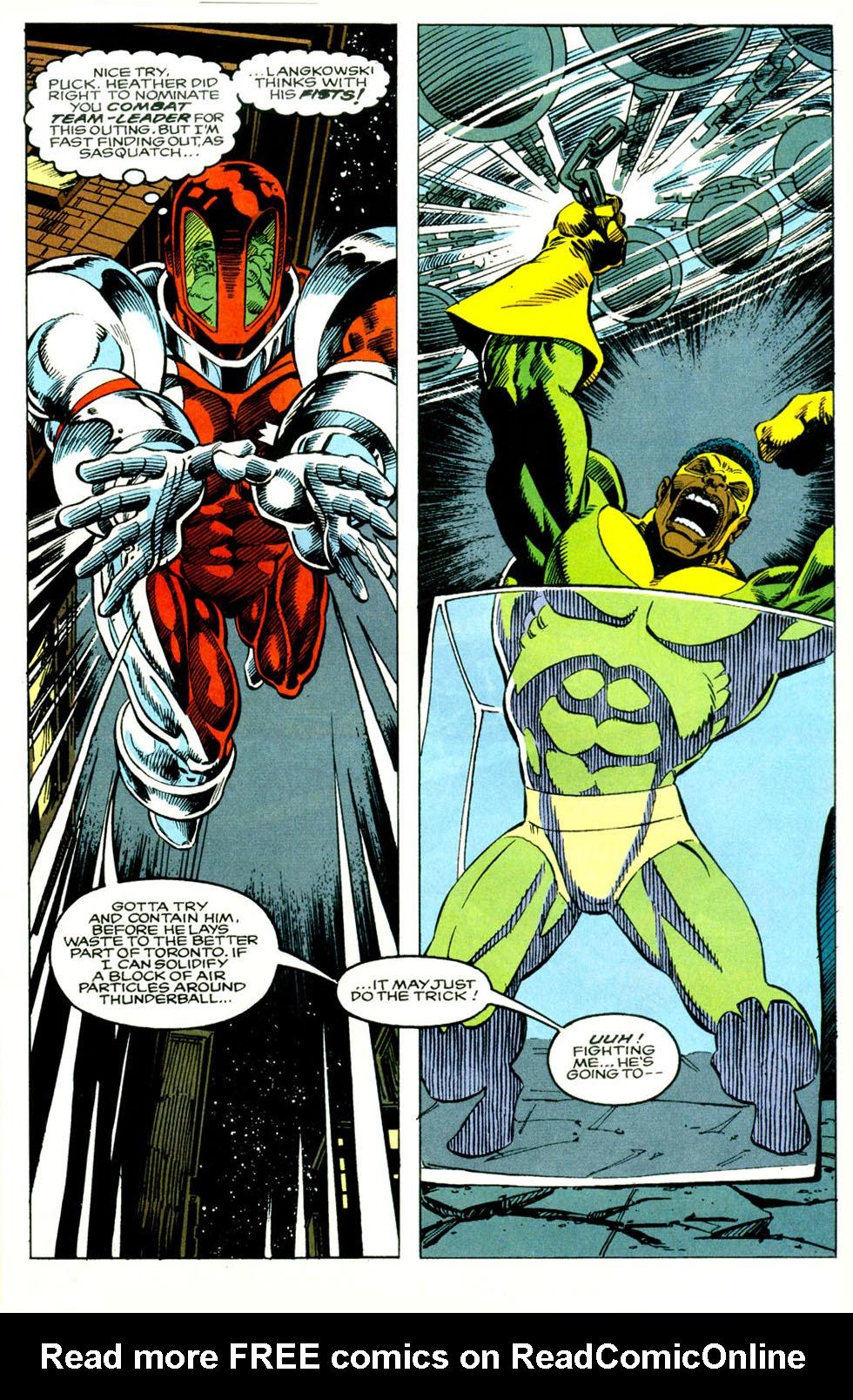 Read online Alpha Flight (1983) comic -  Issue #118 - 16