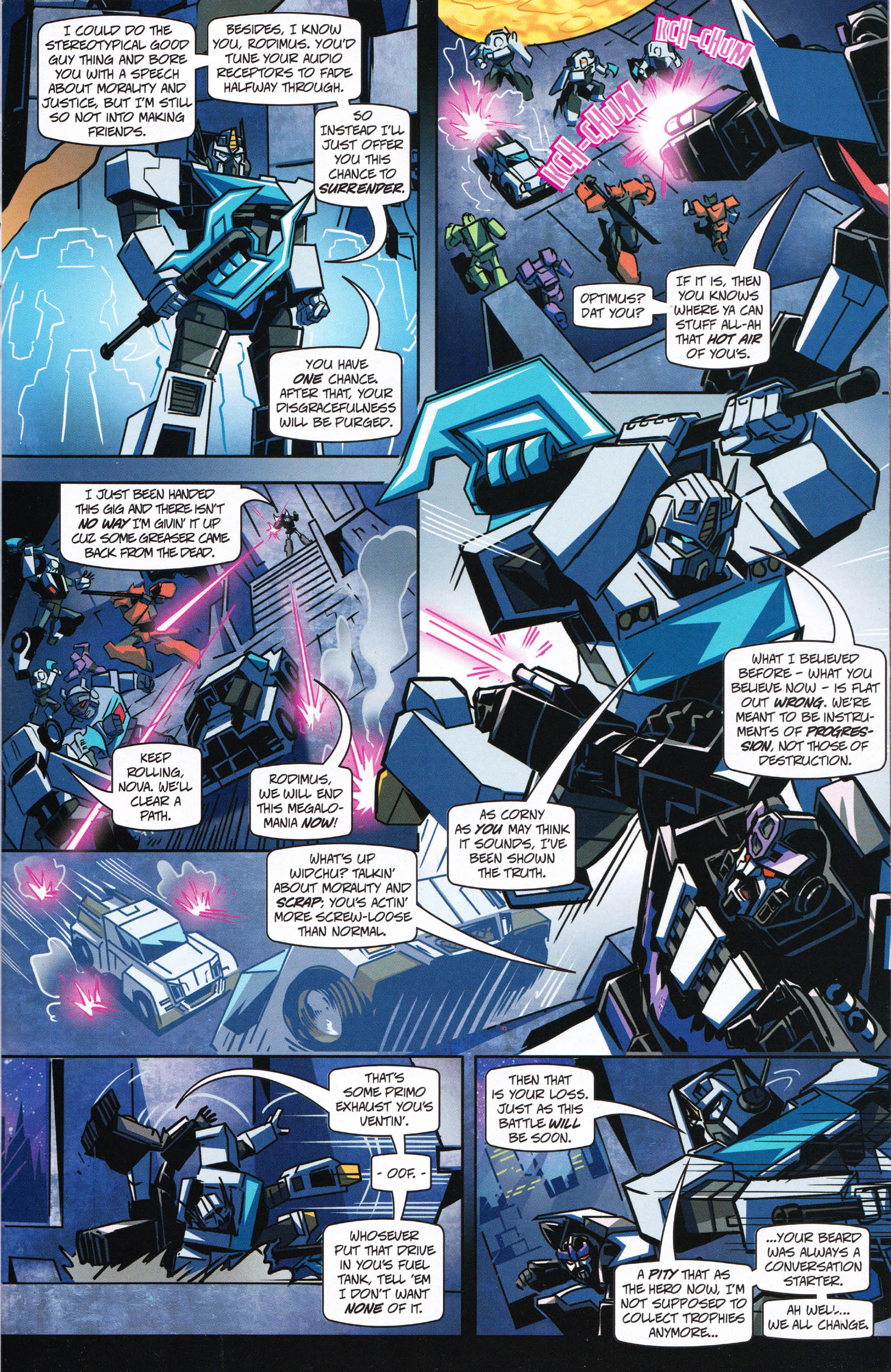 Read online Transformers: Collectors' Club comic -  Issue #65 - 11