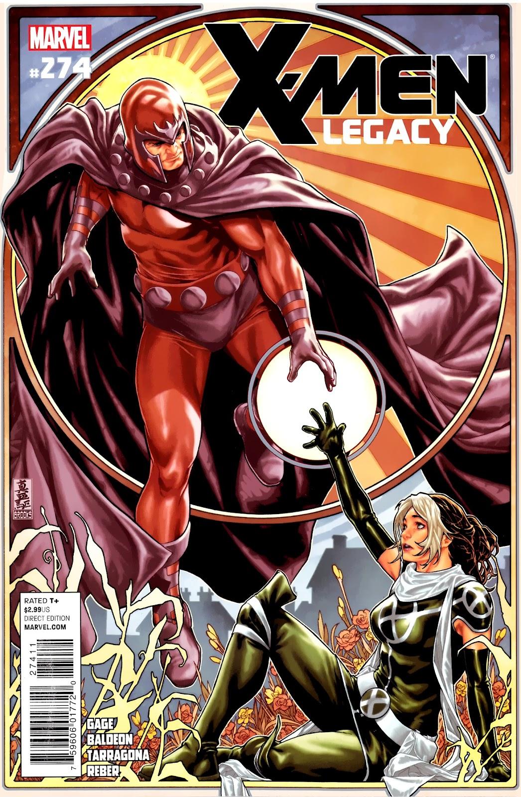 X-Men Legacy (2008) 274 Page 1