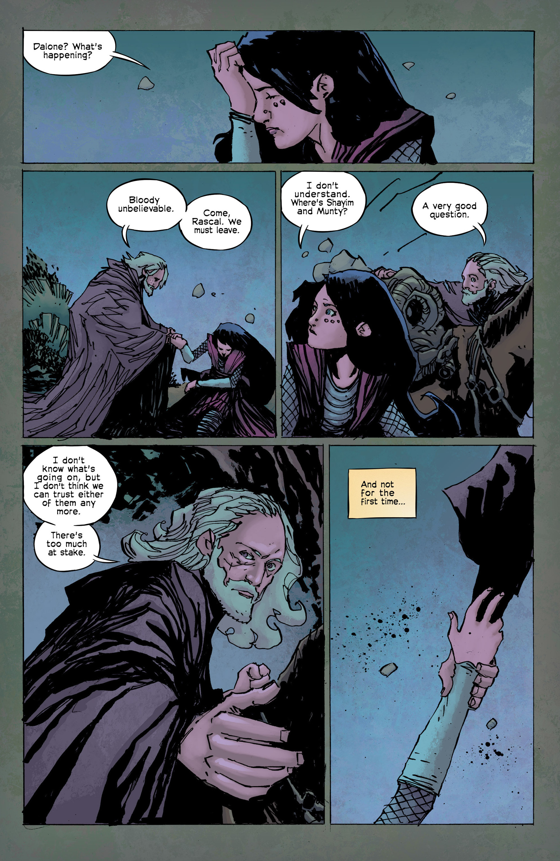 Read online Umbral comic -  Issue #8 - 21