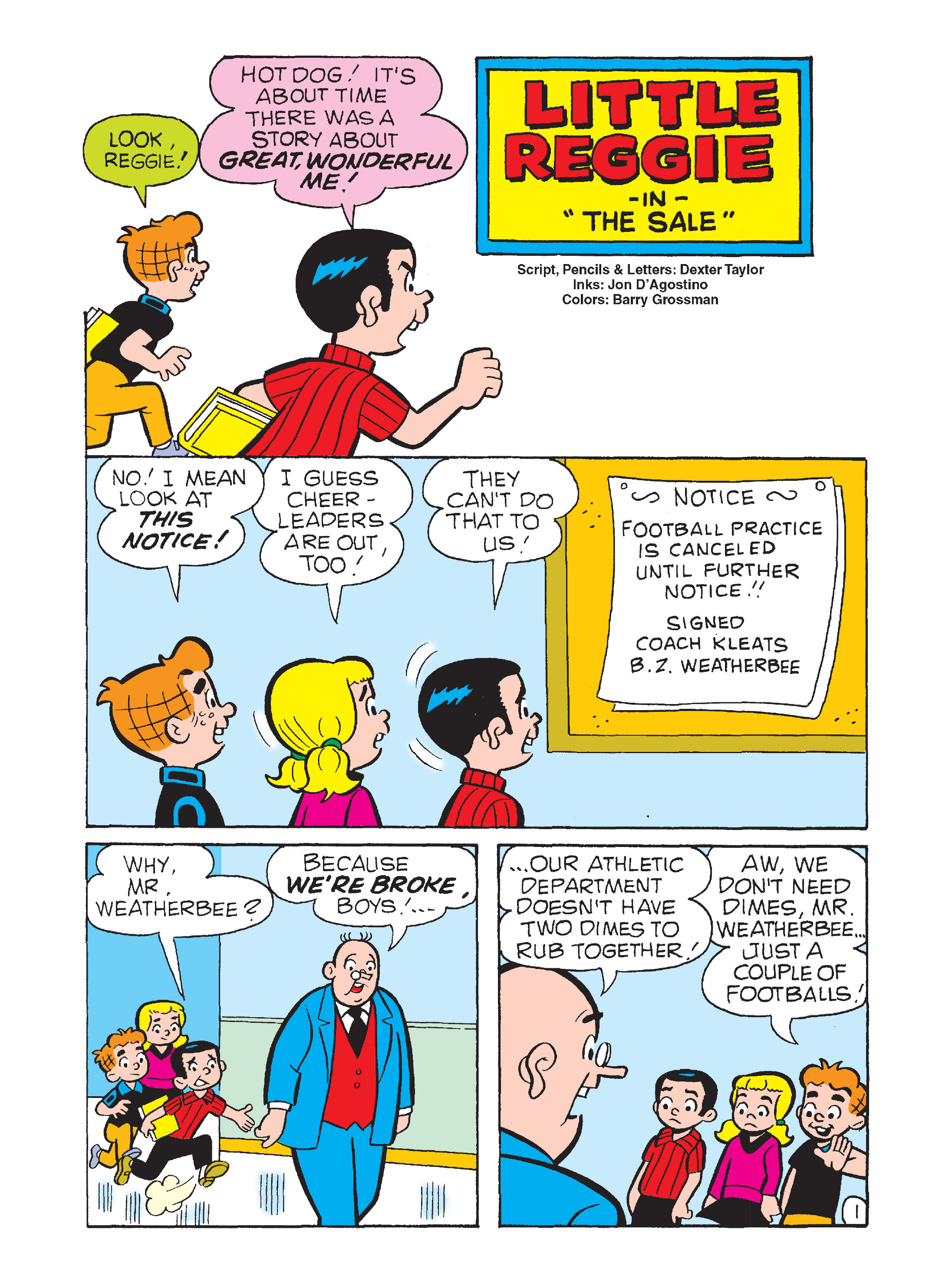 Read online Archie's Funhouse Double Digest comic -  Issue #12 - 133