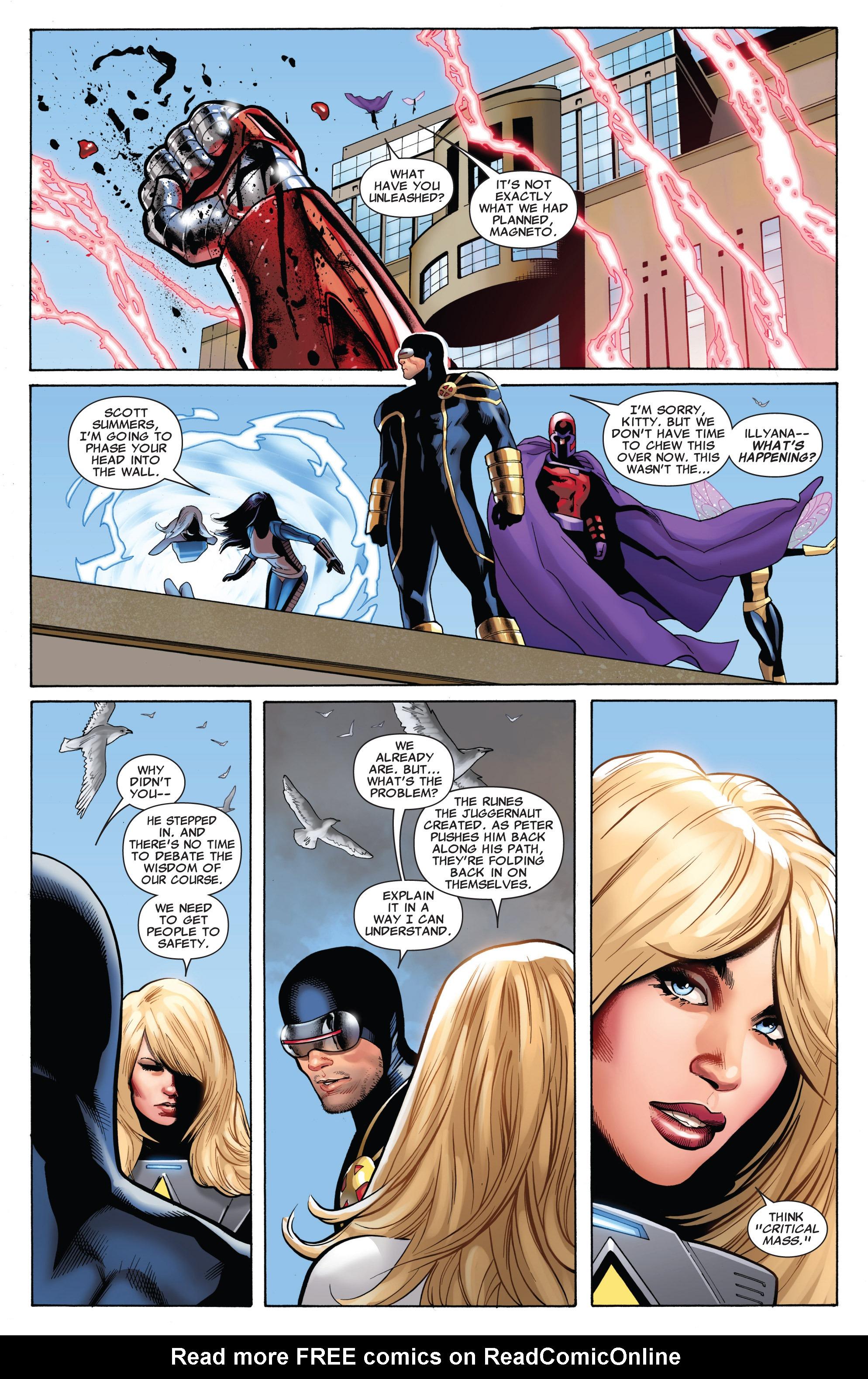 Read online Uncanny X-Men (1963) comic -  Issue #543 - 11