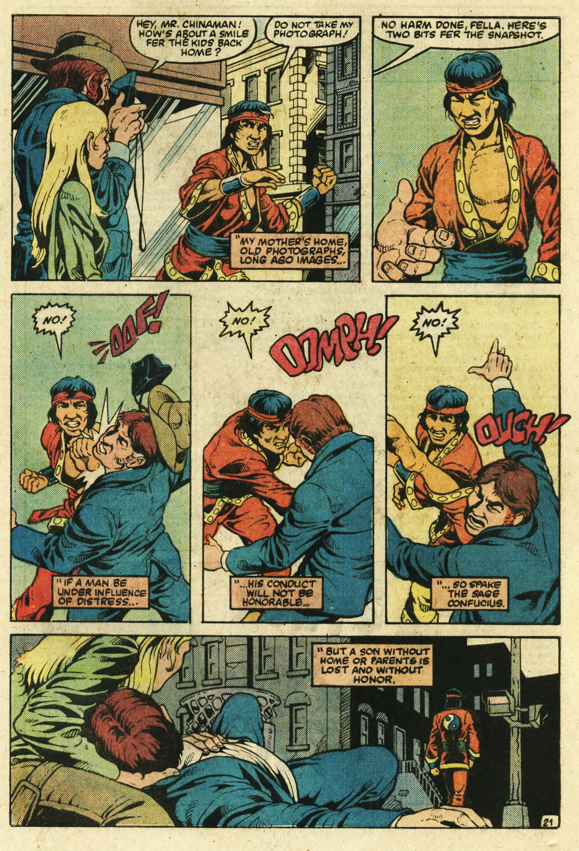 Read online Master of Kung Fu (1974) comic -  Issue #123 - 22