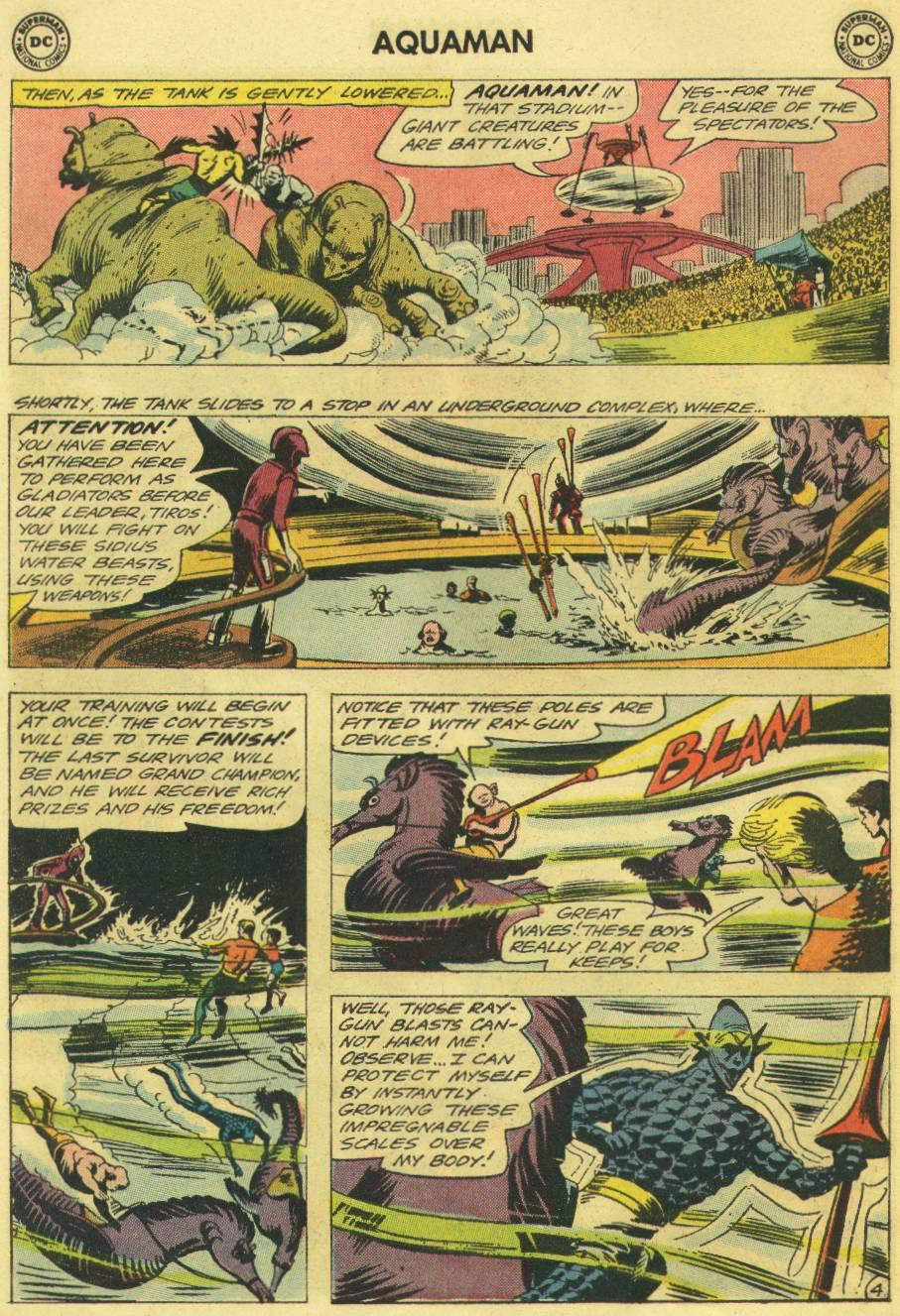Read online Aquaman (1962) comic -  Issue #12 - 22