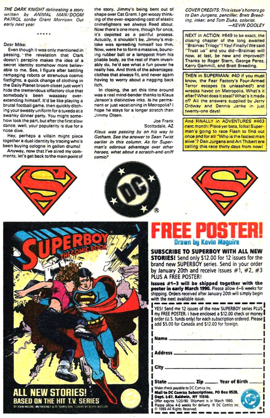 Read online Adventures of Superman (1987) comic -  Issue #462 - 25