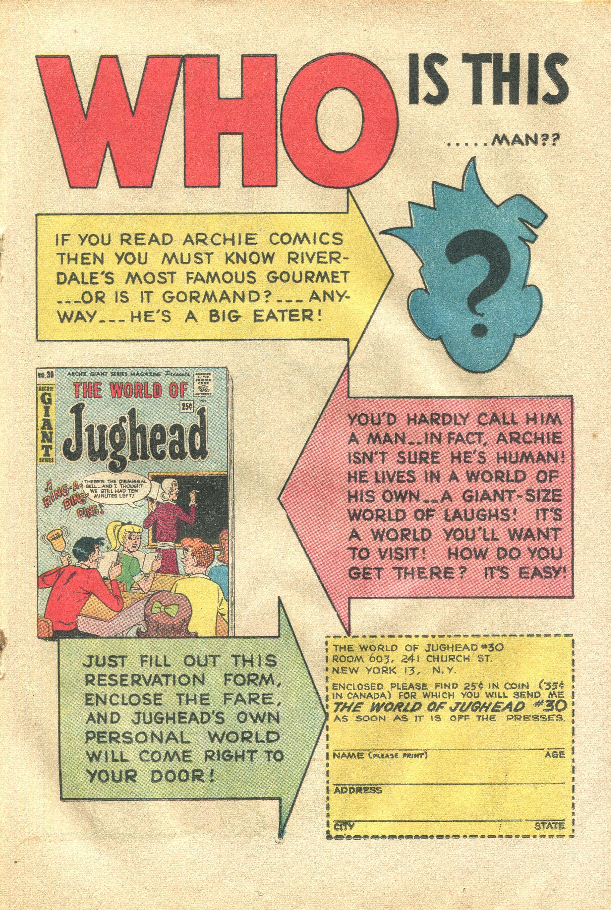 Read online Archie's Pal Jughead Comics comic -  Issue #113 - 19