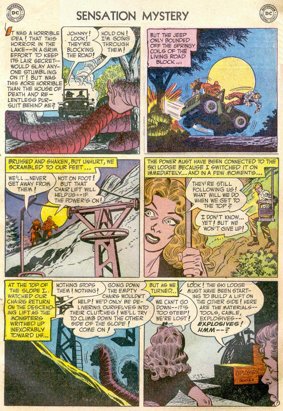 Read online Sensation (Mystery) Comics comic -  Issue #110 - 31