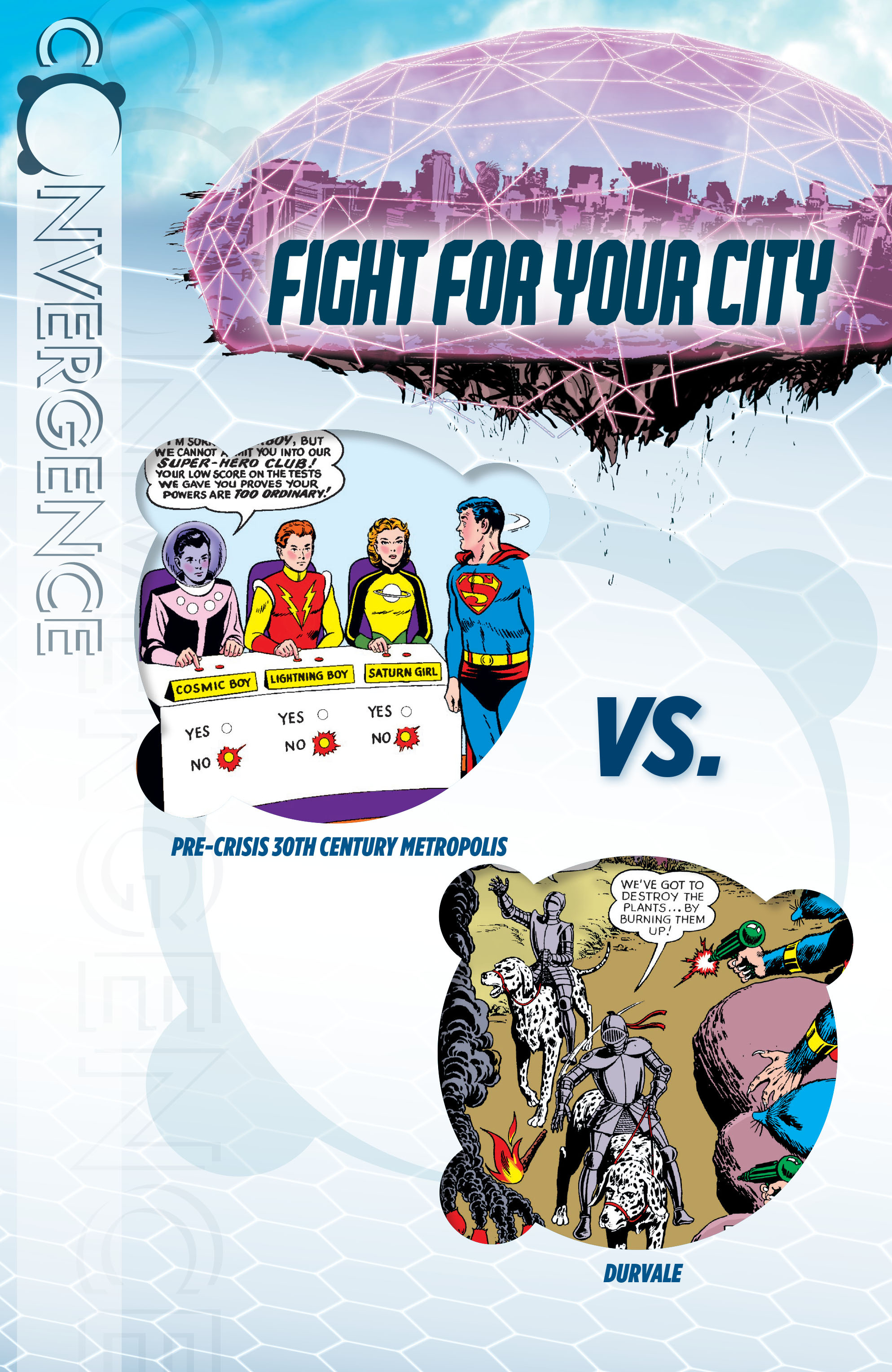 Read online Convergence Superboy and the Legion of Super-Heroes comic -  Issue #1 - 2
