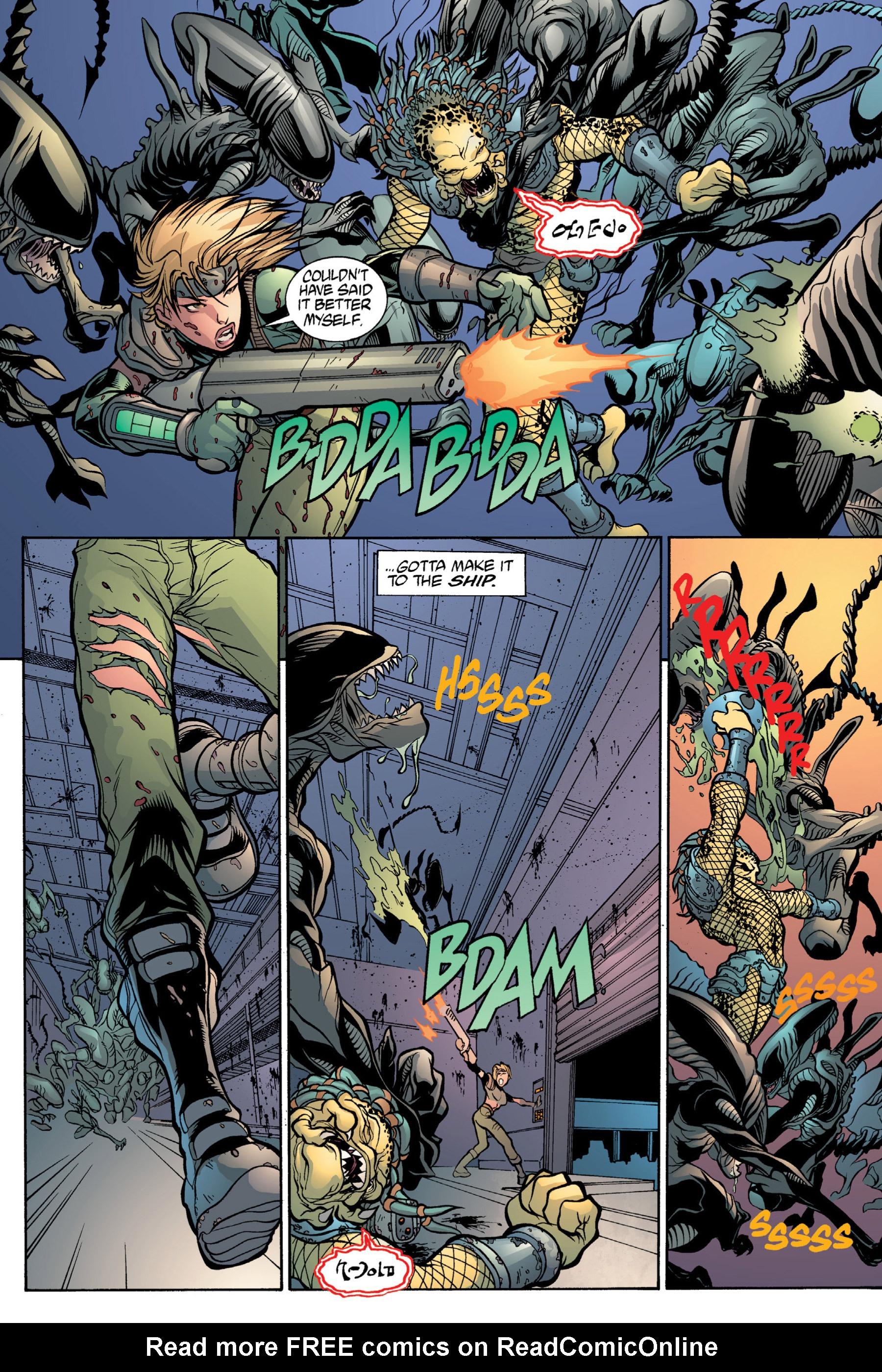 Read online Aliens vs. Predator Omnibus comic -  Issue # _TPB 2 Part 4 - 23