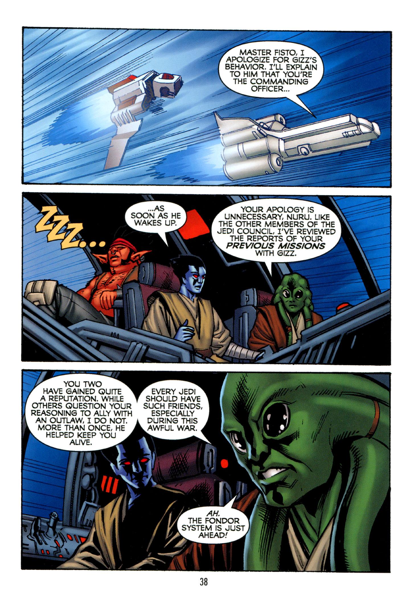 Read online Star Wars: The Clone Wars - Strange Allies comic -  Issue # Full - 39