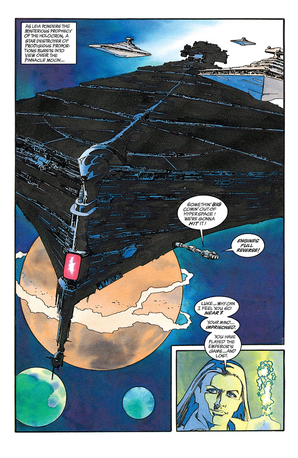 Read online Star Wars: Dark Empire Trilogy comic -  Issue # TPB (Part 2) - 44