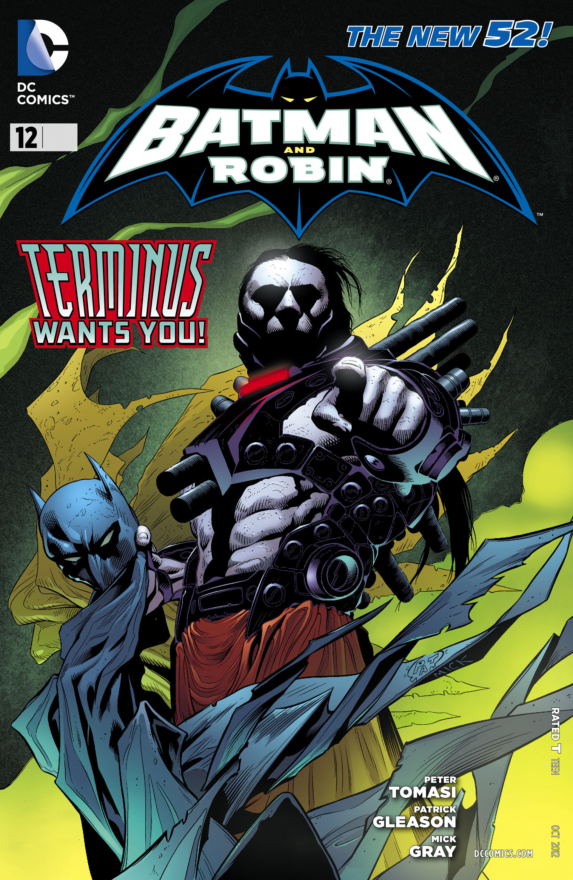 Read online Batman and Robin (2011) comic -  Issue #12 - 1