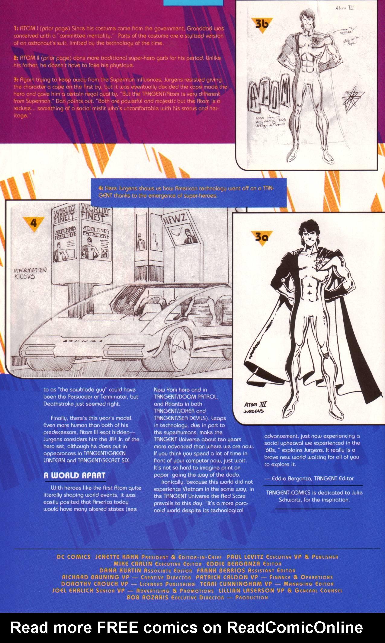 Read online Tangent Comics/ The Atom comic -  Issue # Full - 41