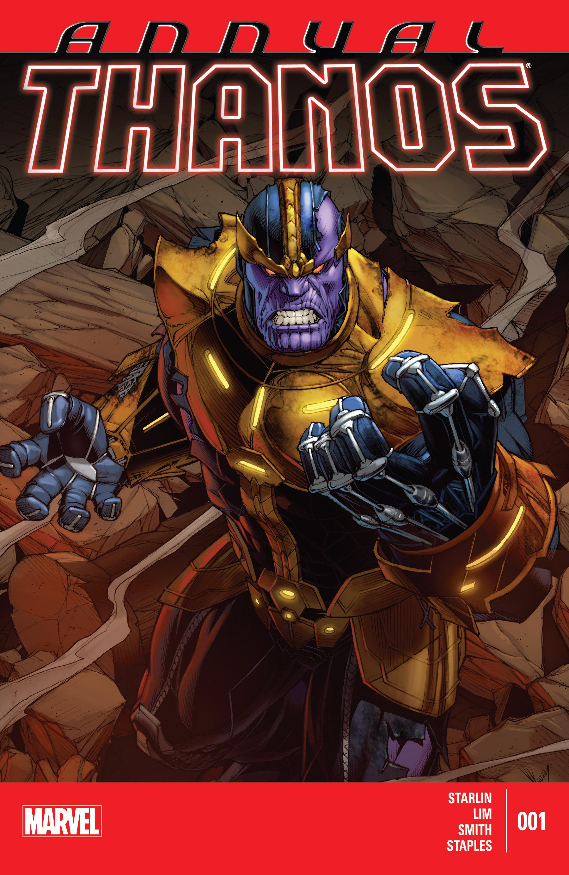 Read online Thanos Annual comic -  Issue # Annual - 1
