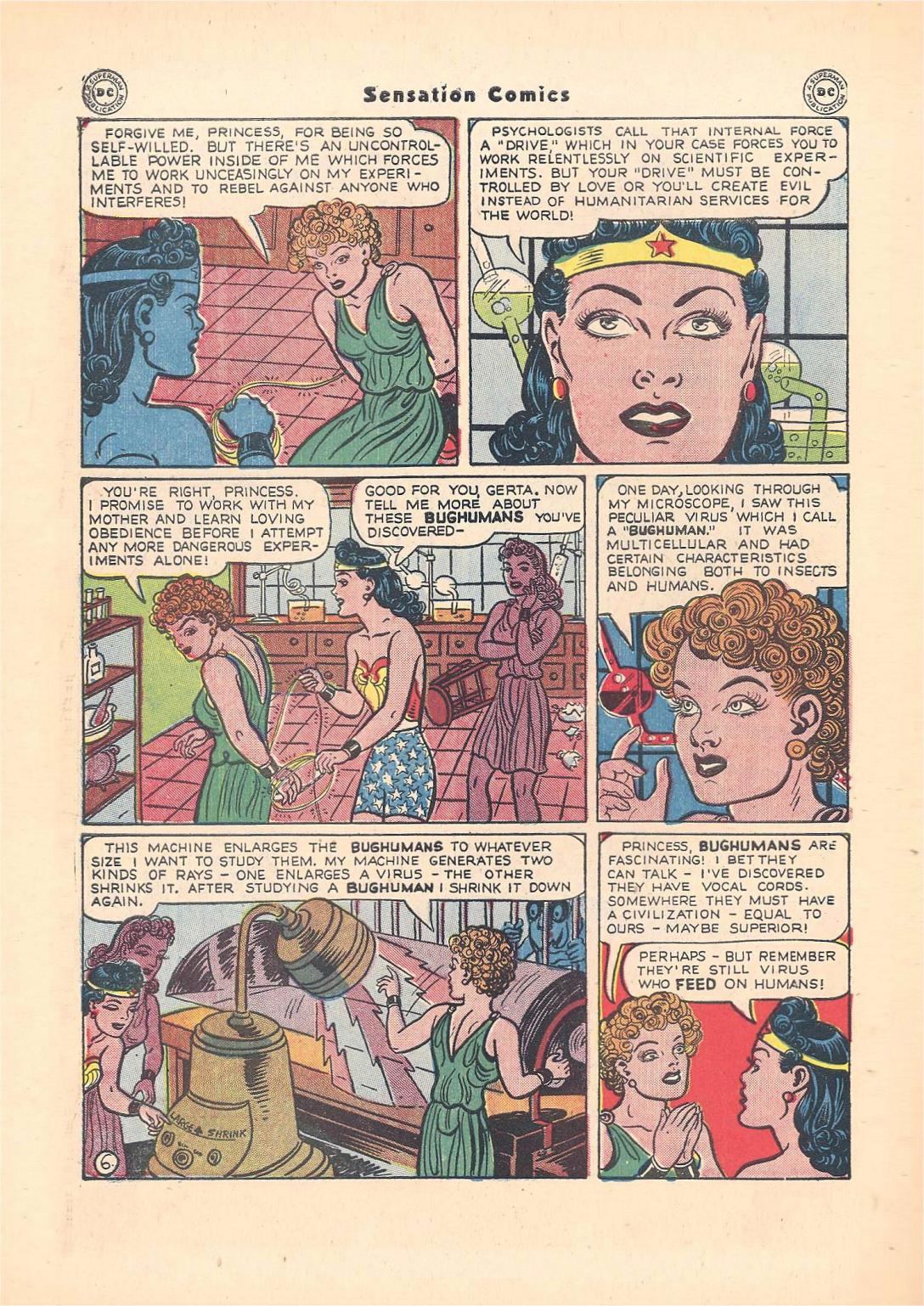 Read online Sensation (Mystery) Comics comic -  Issue #55 - 8