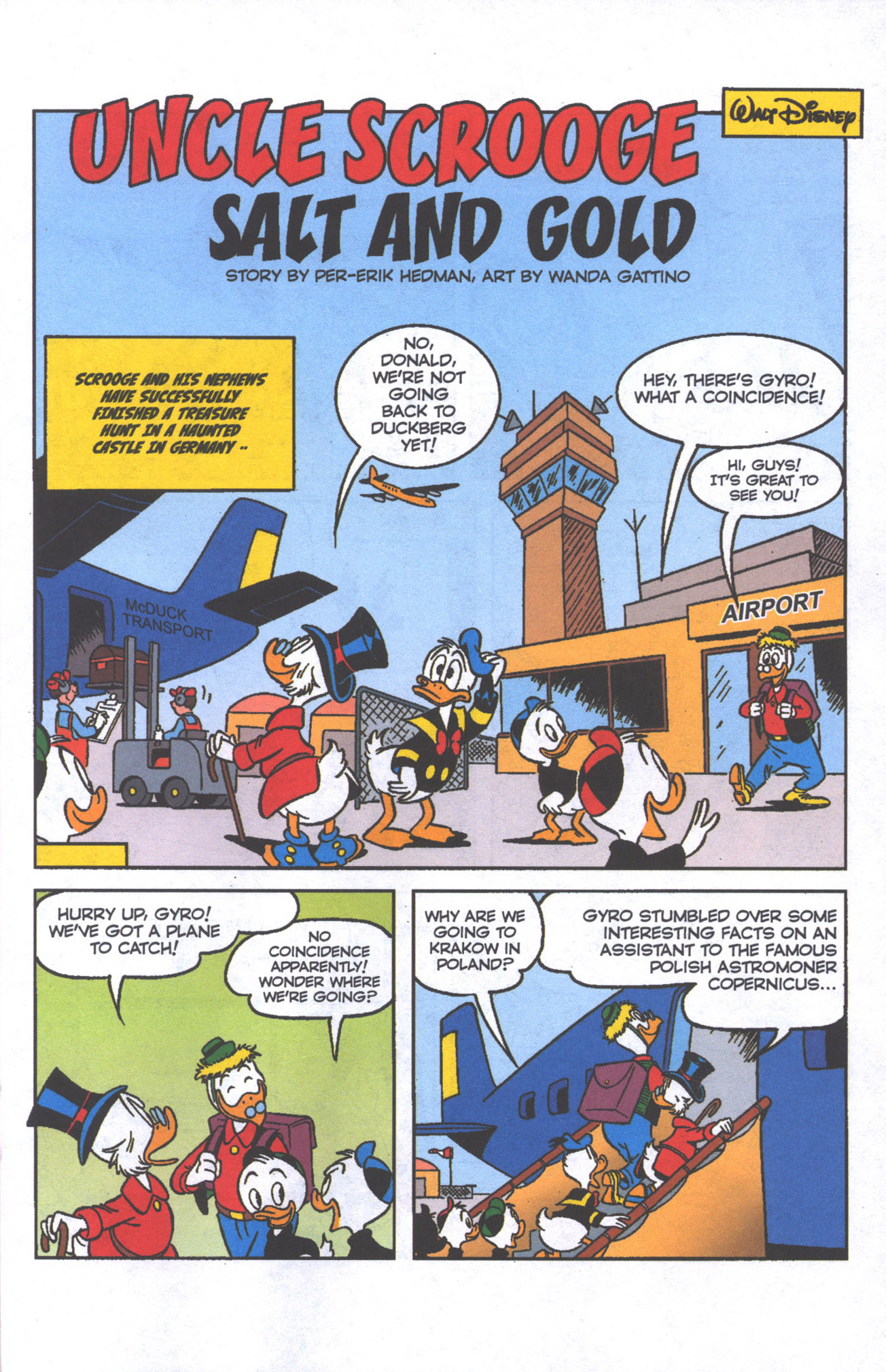 Read online Uncle Scrooge (1953) comic -  Issue #384 - 20