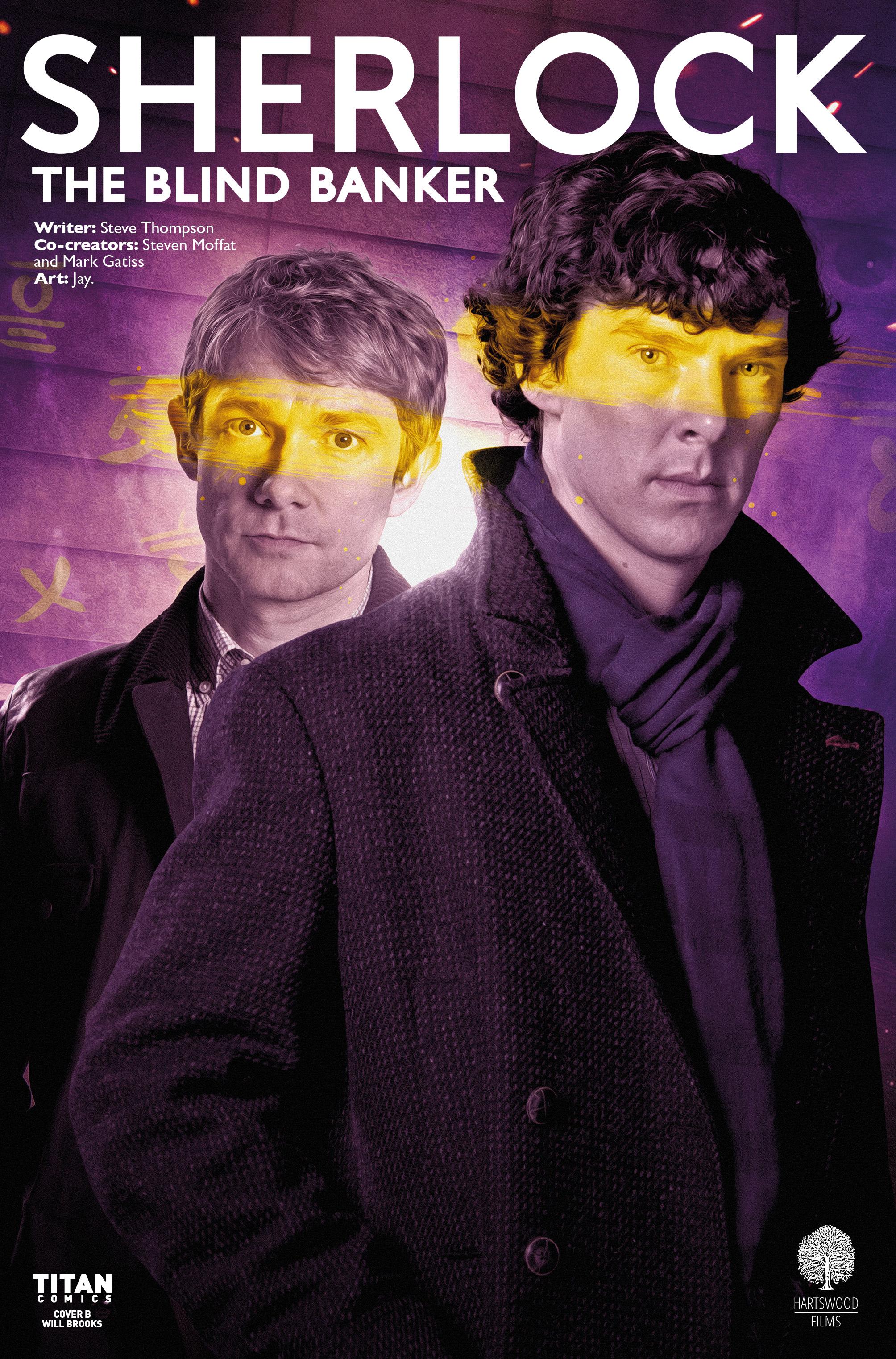 Read online Sherlock: The Blind Banker comic -  Issue #6 - 2