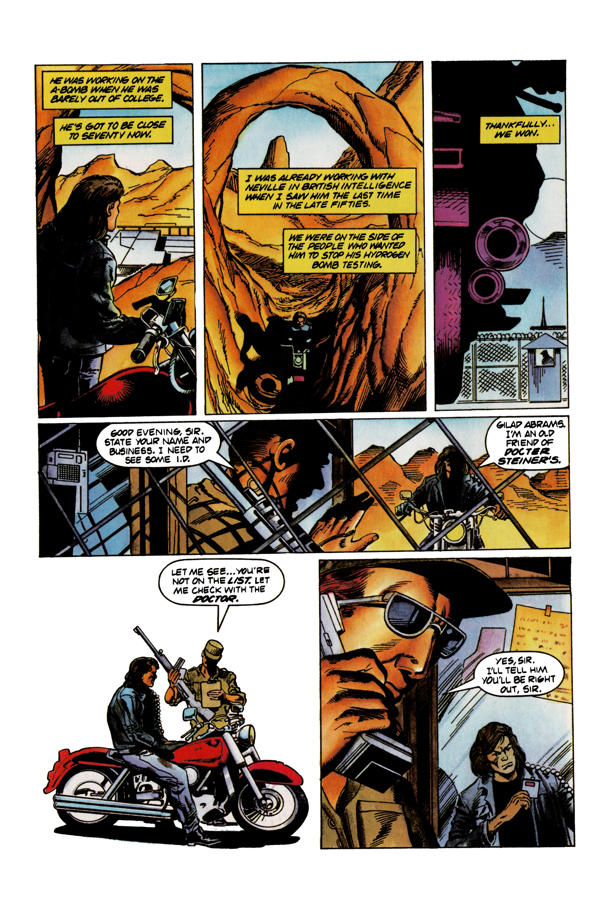 Read online Eternal Warrior (1992) comic -  Issue #21 - 12