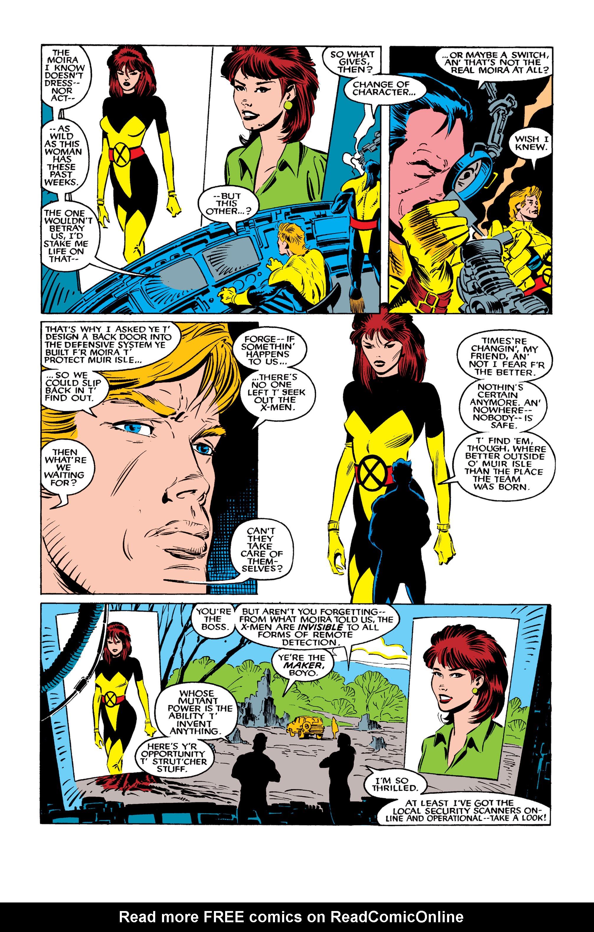Read online Uncanny X-Men (1963) comic -  Issue #261 - 10