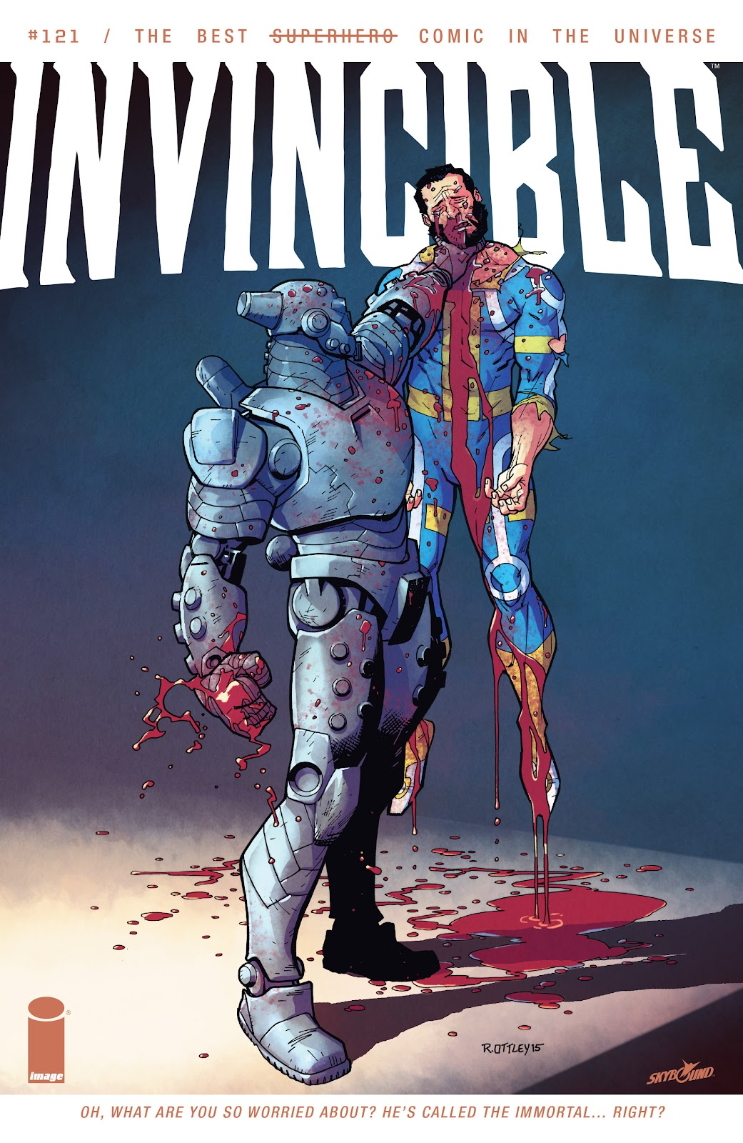 Invincible (2003) 121 Page 1
