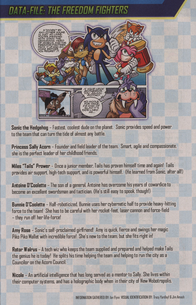 Sonic the Hedgehog Free Comic Book Day Edition Issue #3 - Read Sonic