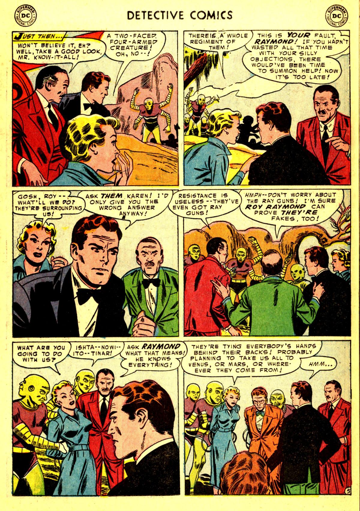 Read online Detective Comics (1937) comic -  Issue #211 - 21