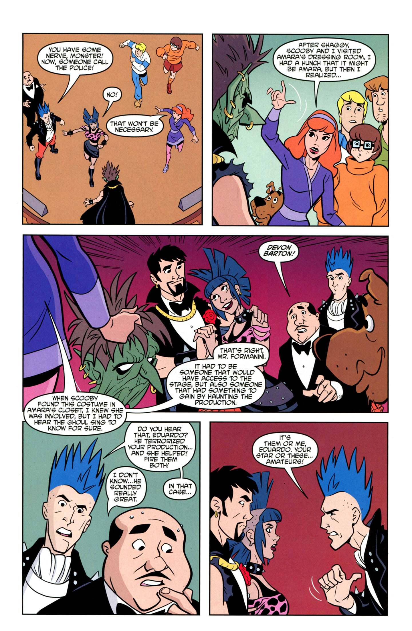 Read online Scooby-Doo: Where Are You? comic -  Issue #20 - 25