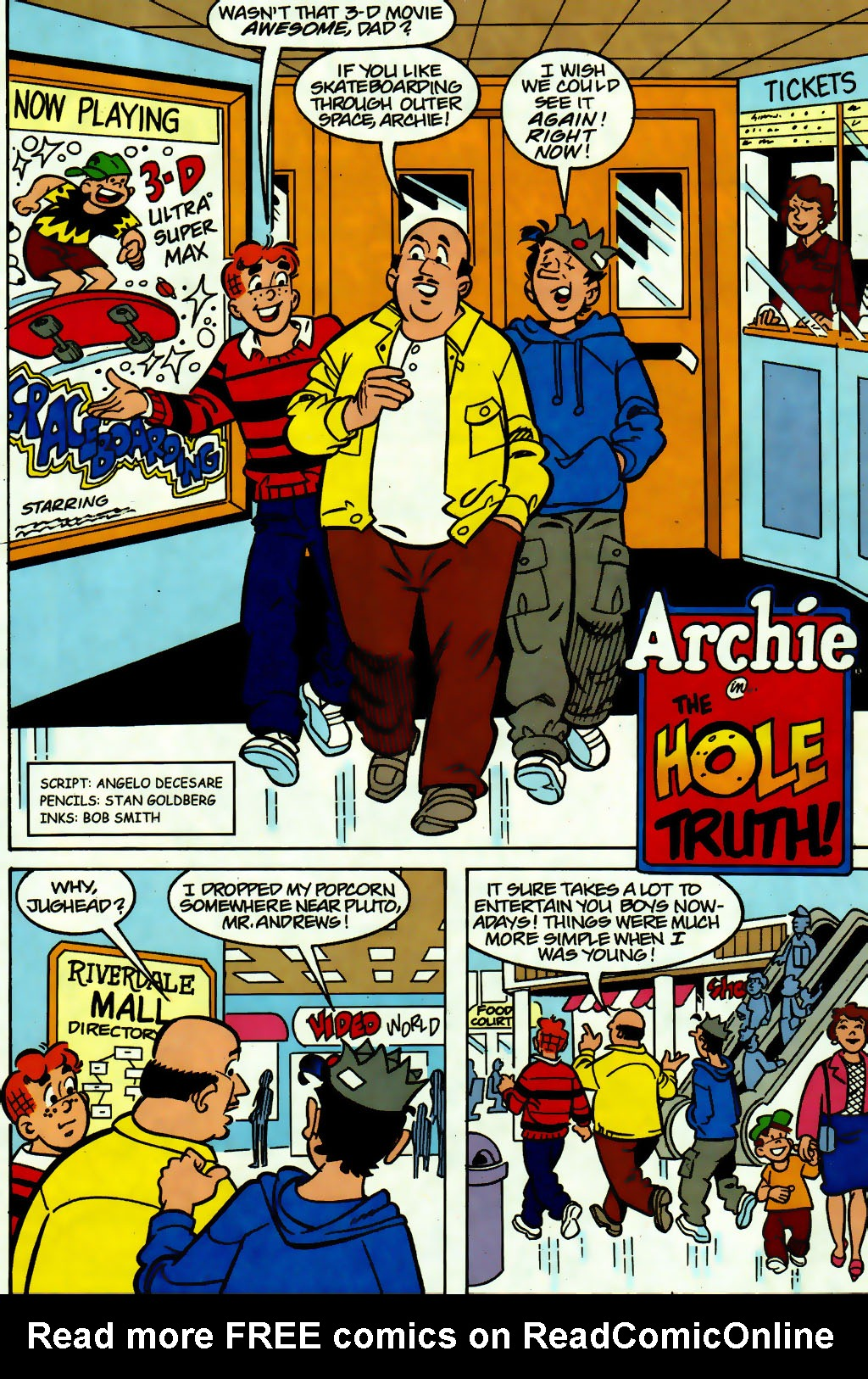 Read online Archie (1960) comic -  Issue #560 - 18