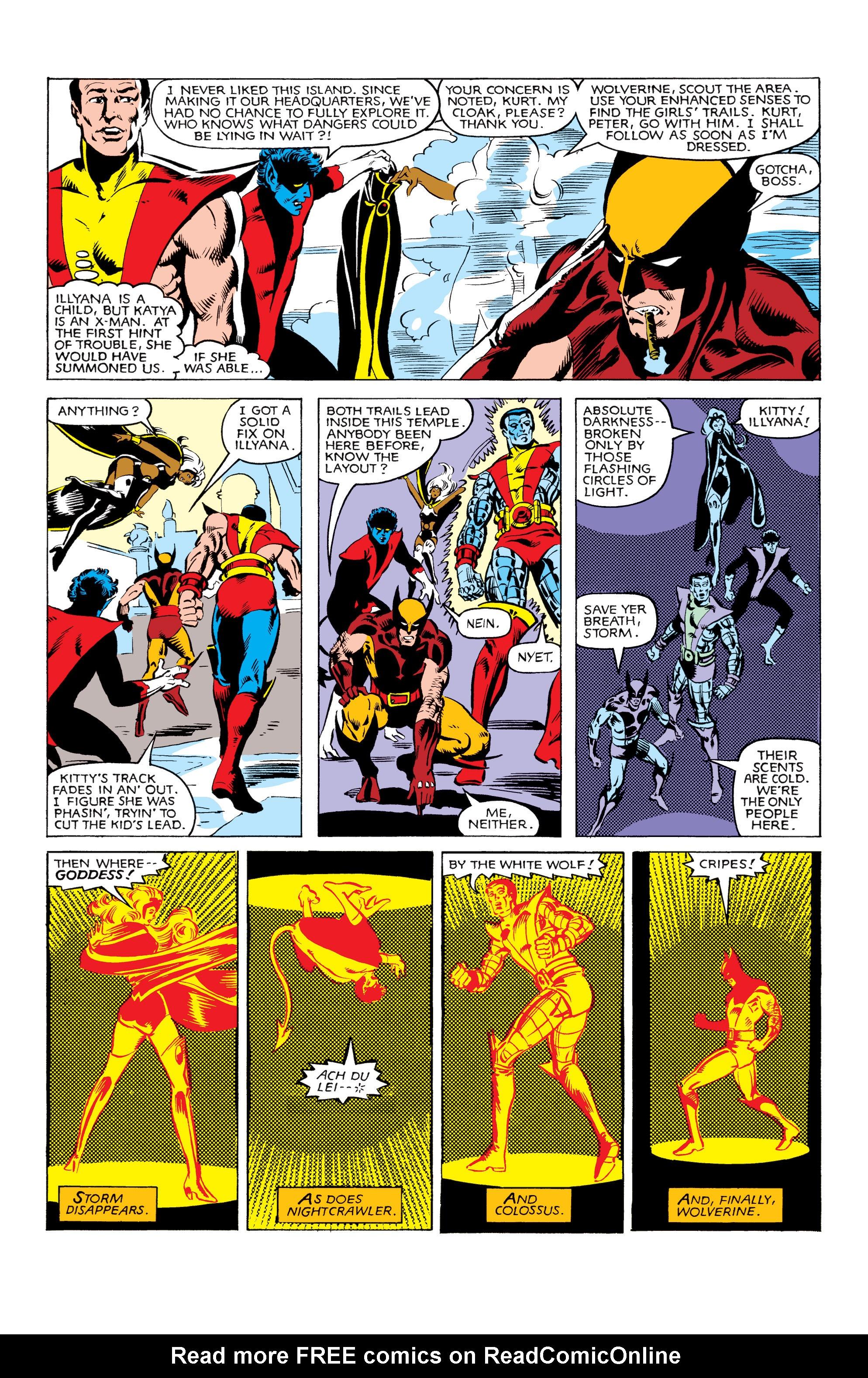 Read online Uncanny X-Men (1963) comic -  Issue #160 - 6
