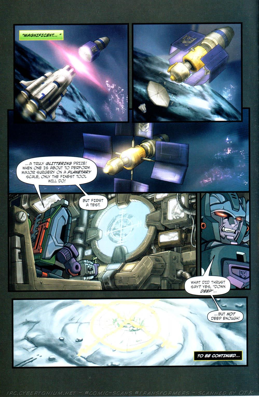 Read online Transformers Armada comic -  Issue #12 - 24